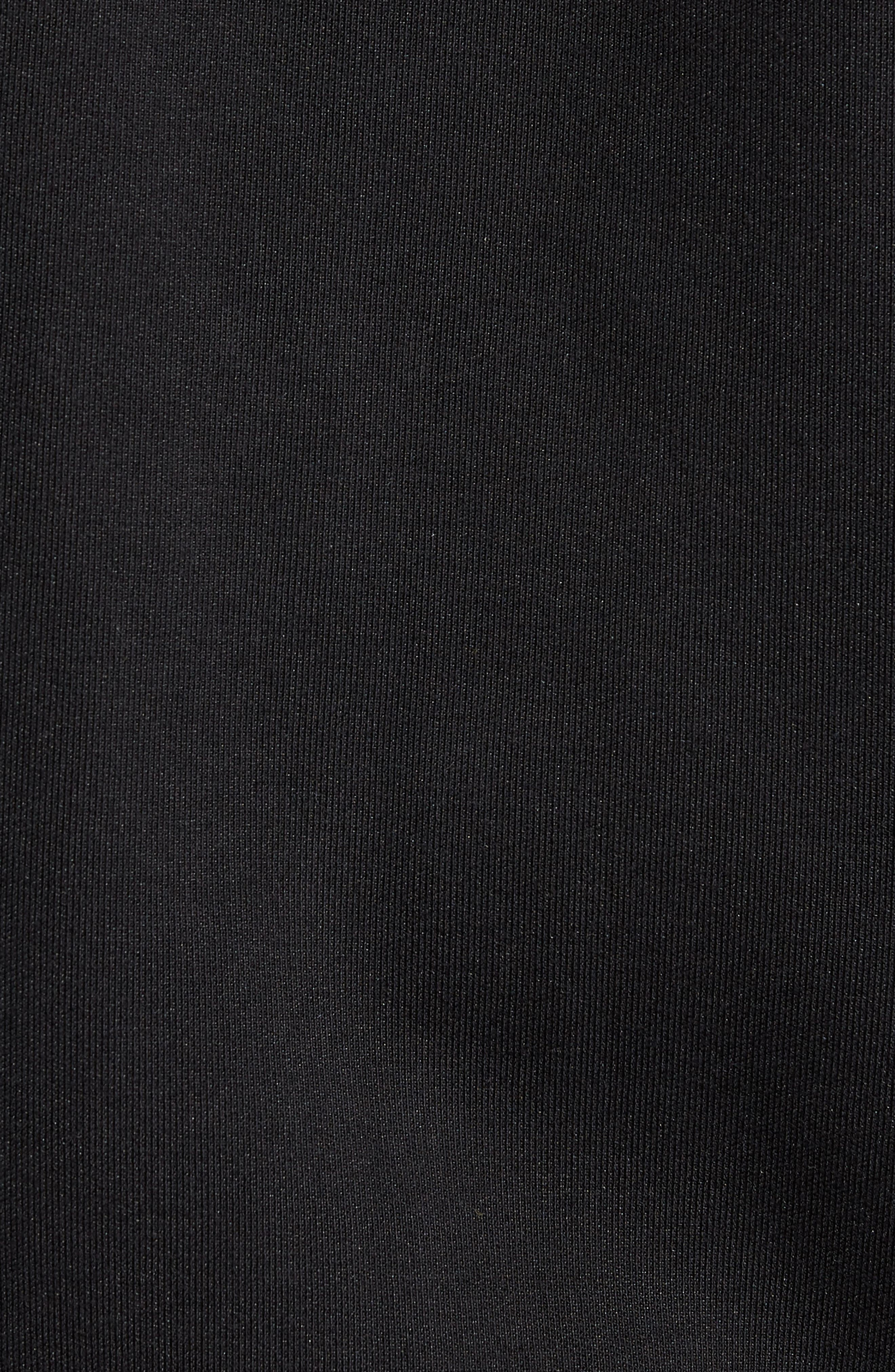 Reverse Tricot Track Jacket,                             Alternate thumbnail 6, color,                             001
