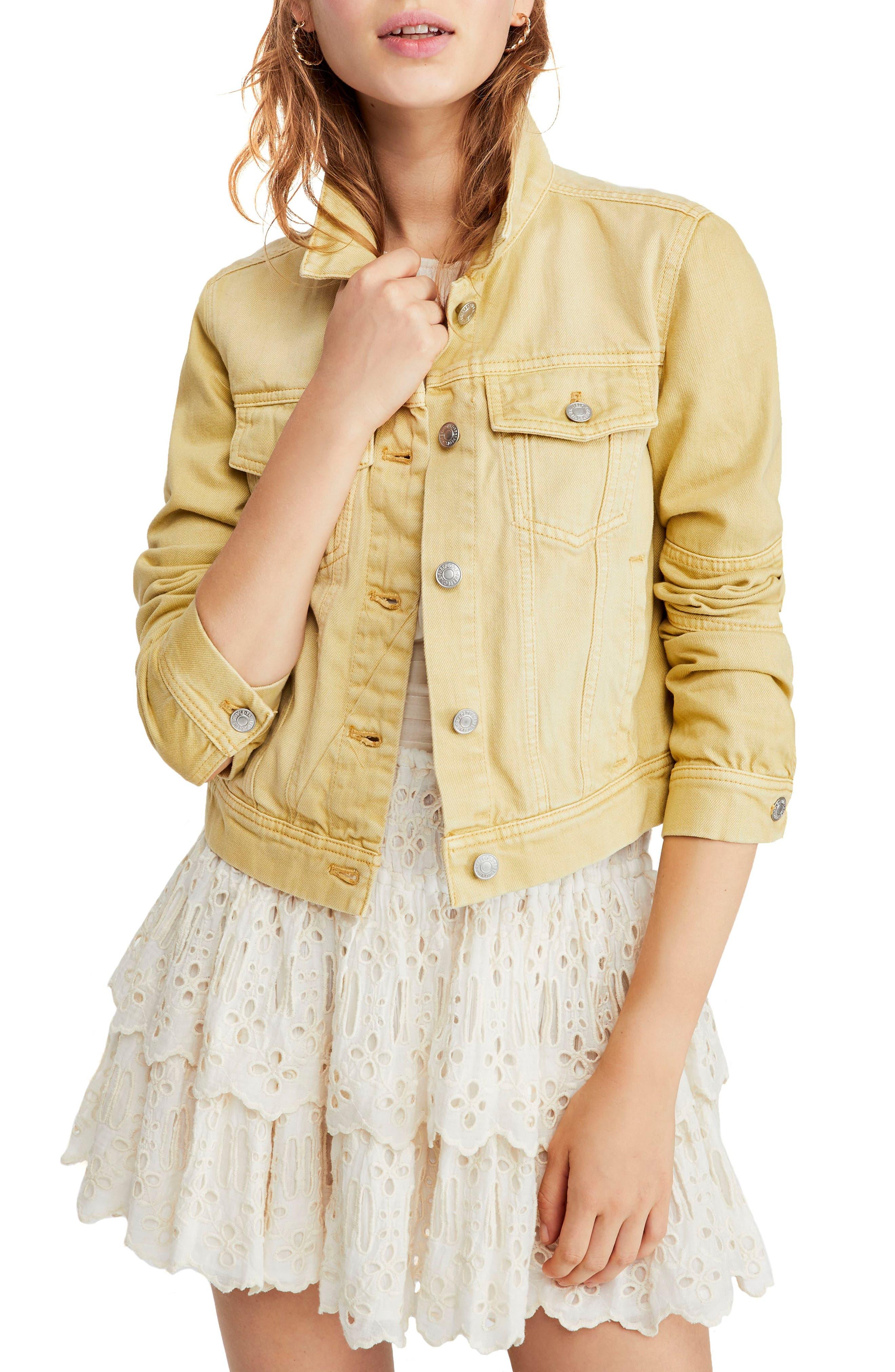 Rumors Denim Jacket, Main, color, 740