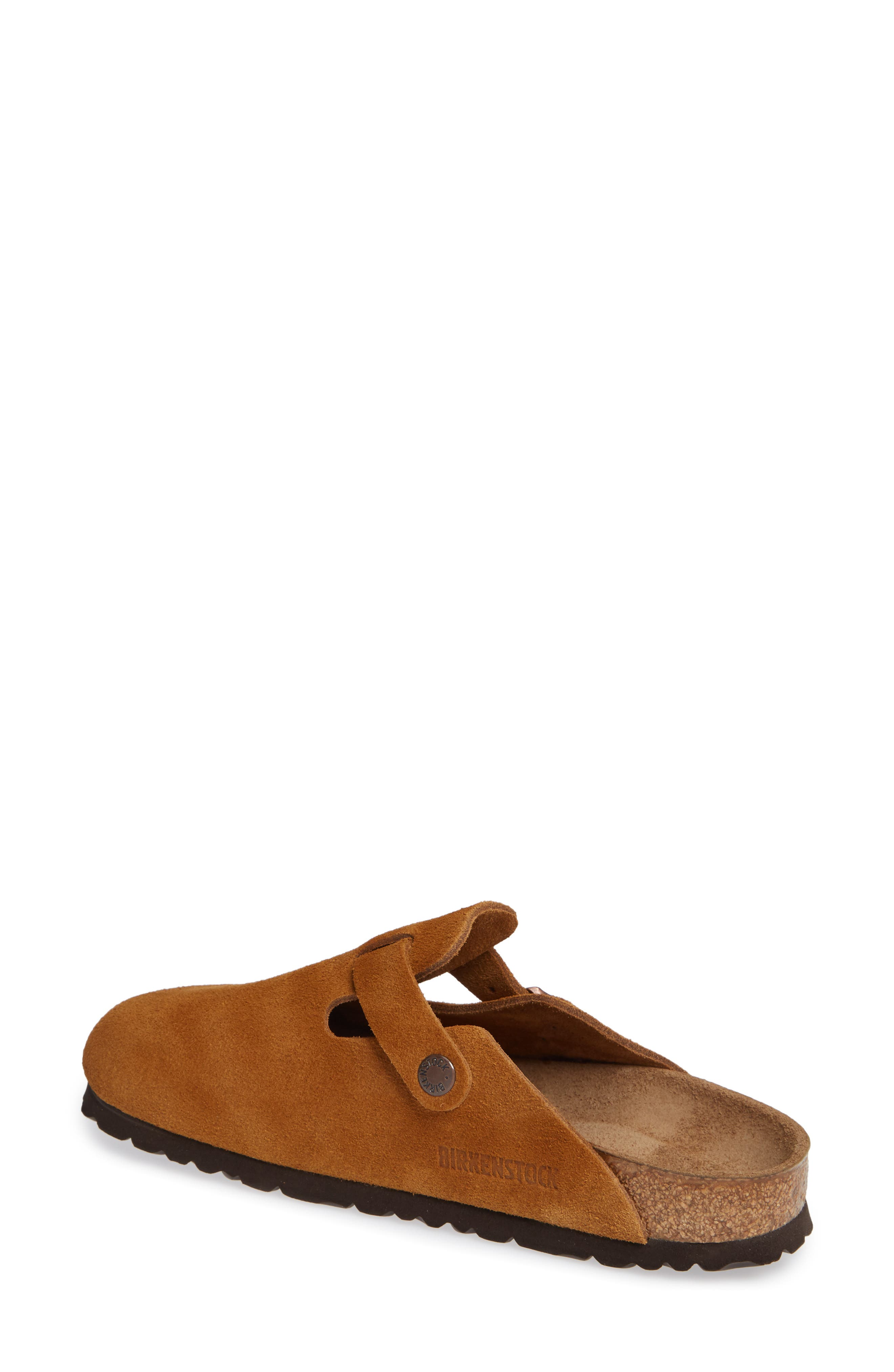'Boston' Soft Footbed Clog,                             Alternate thumbnail 2, color,                             MINK SUEDE