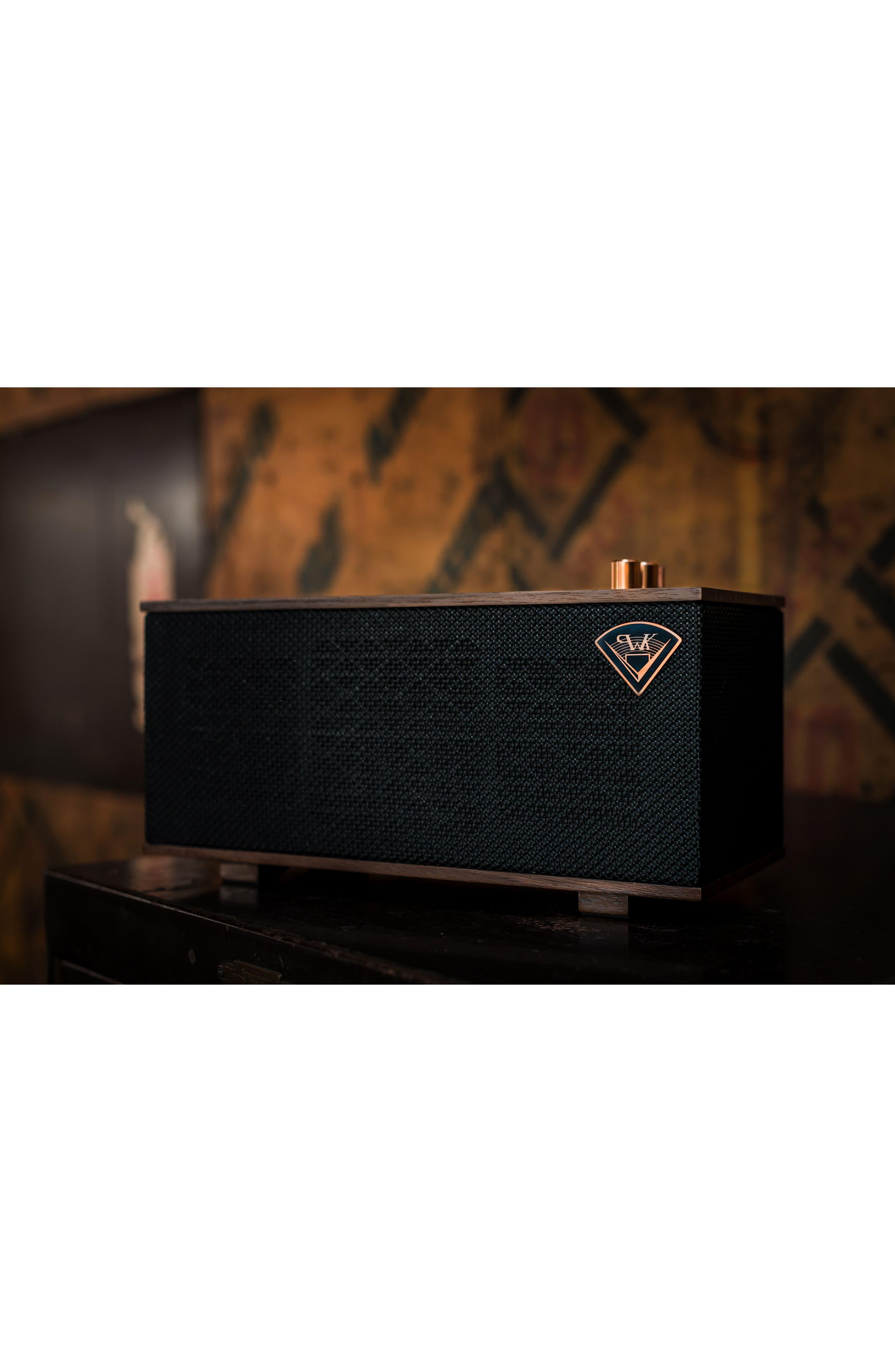 Klipsch The One Bluetooth<sup>®</sup> Speaker,                             Alternate thumbnail 4, color,                             EBONY