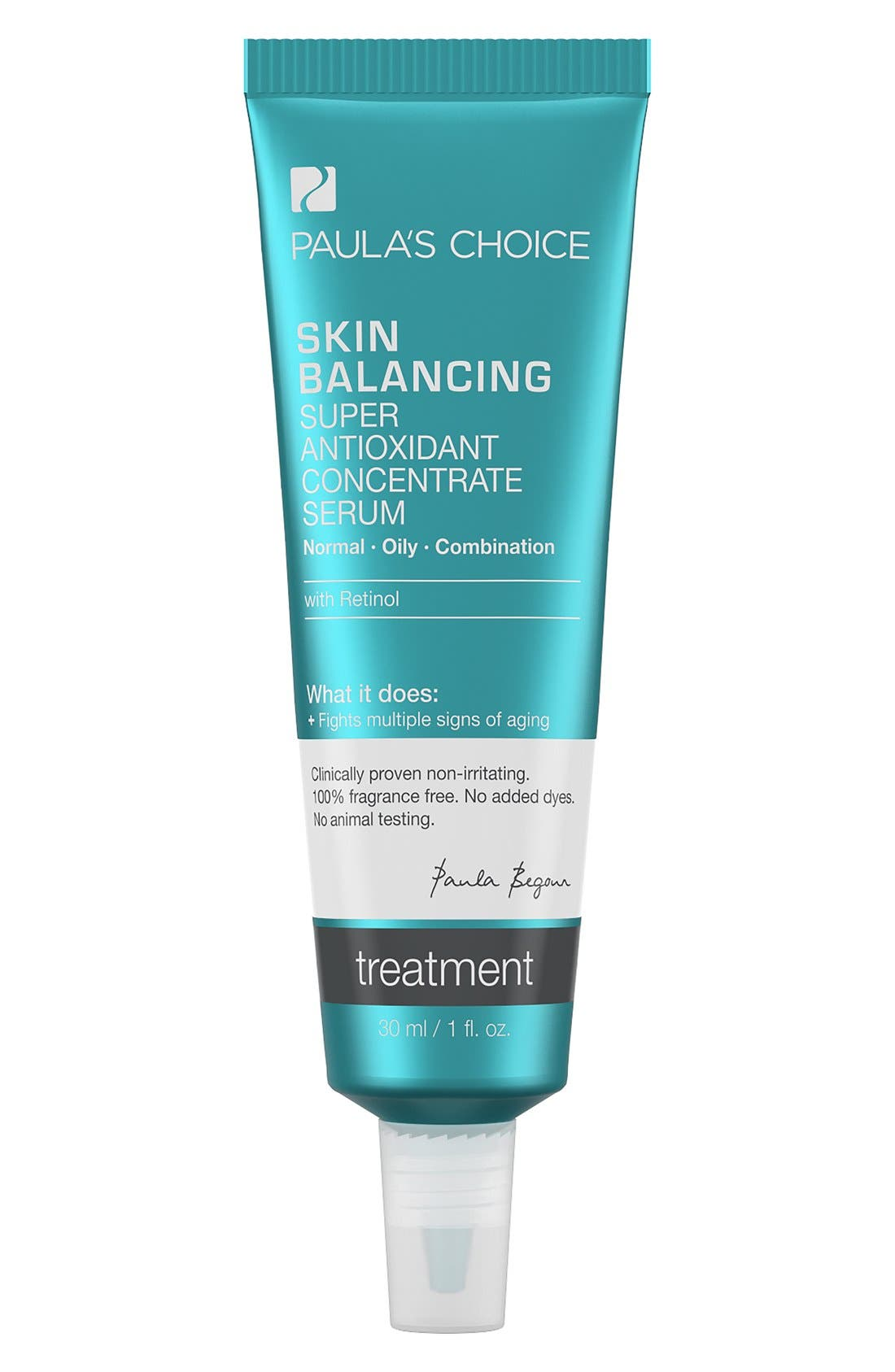 Skin Balancing Super Antioxidant Concentrate Serum with Retinol,                             Main thumbnail 1, color,                             NO COLOR