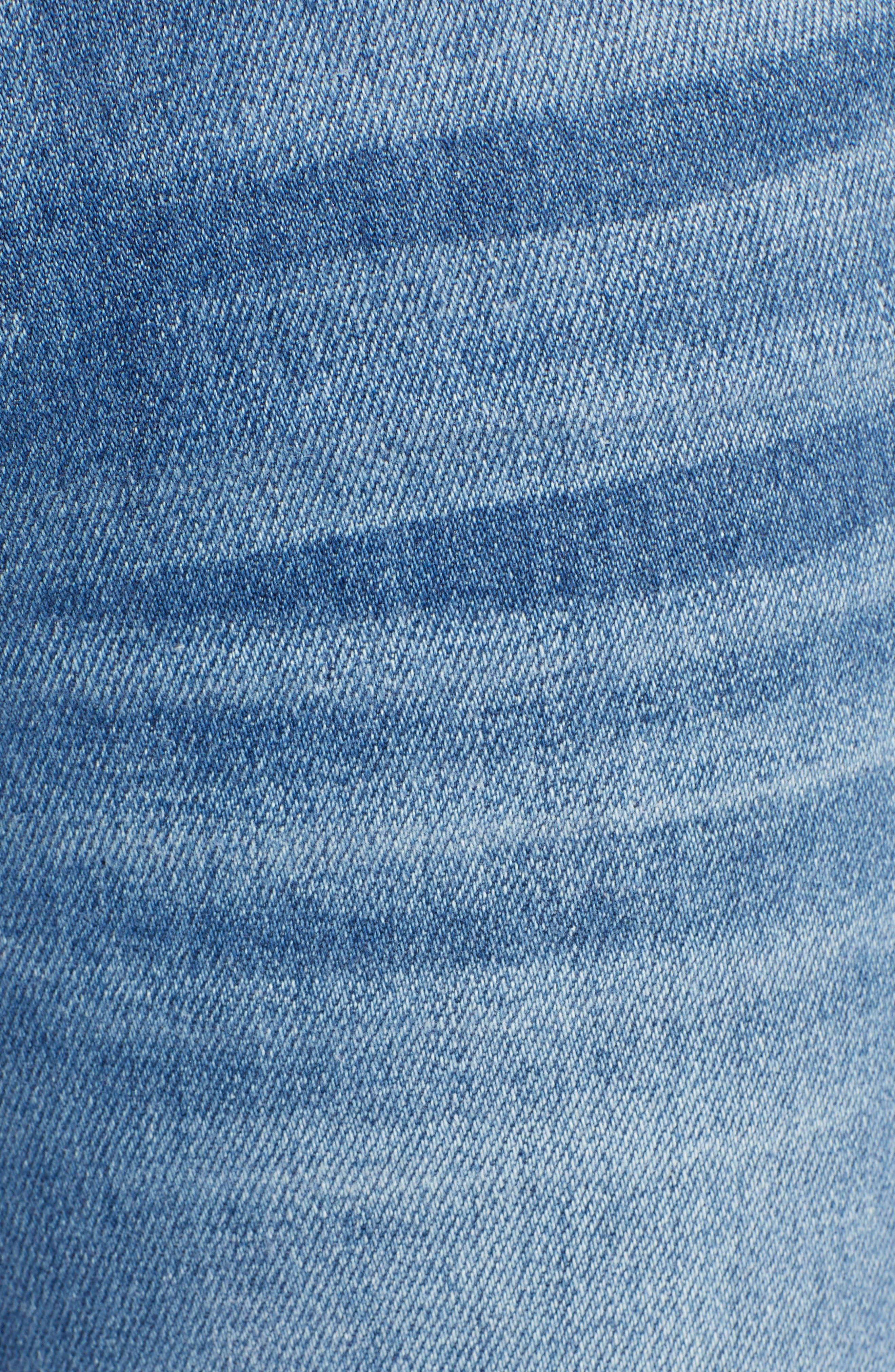 PAIGE,                             Verdugo Ultra Skinny Jeans,                             Alternate thumbnail 6, color,                             KAYSON DISTRESSED