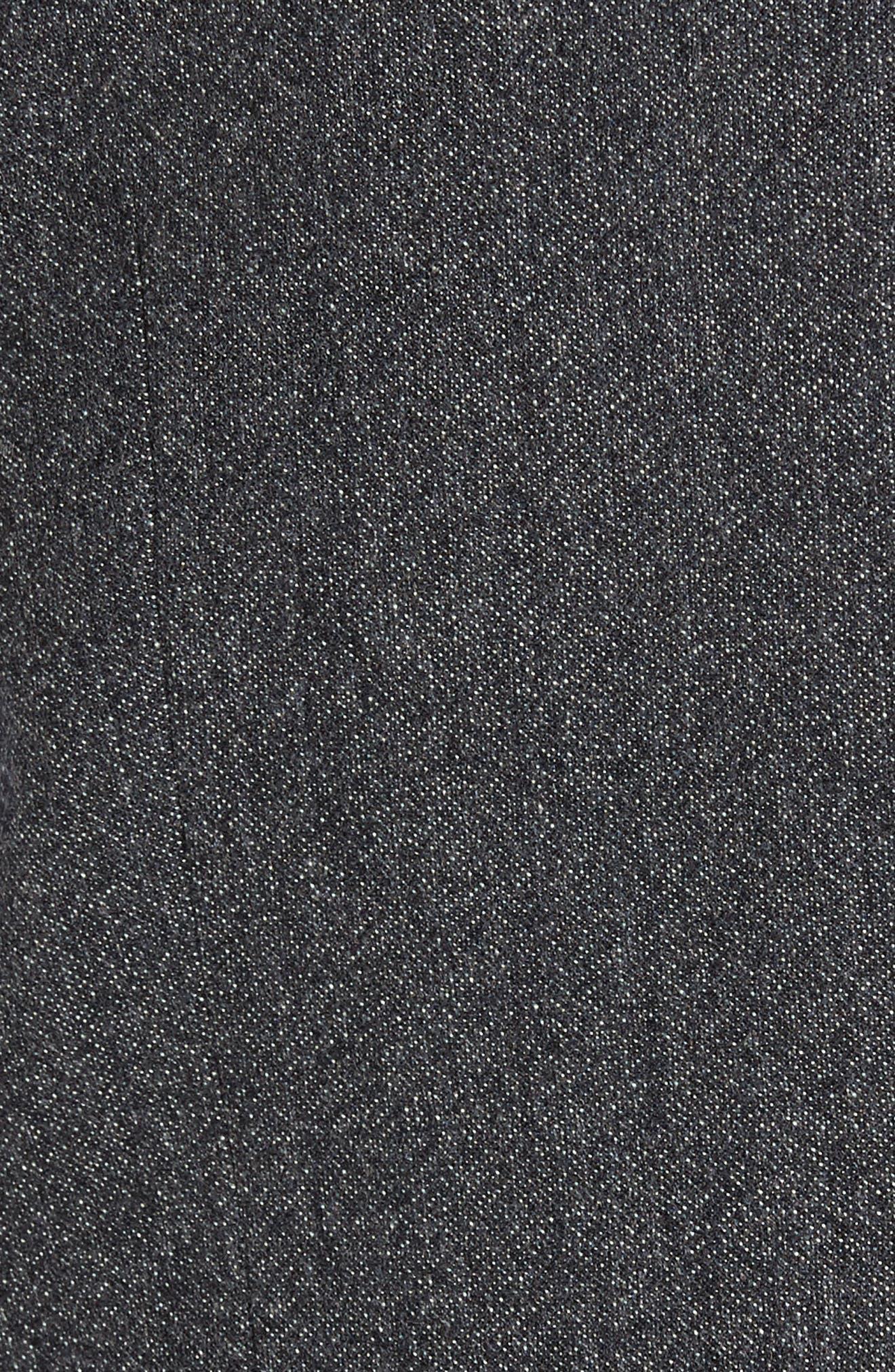 Troy Trim Fit Solid Wool Vest,                             Alternate thumbnail 6, color,                             050