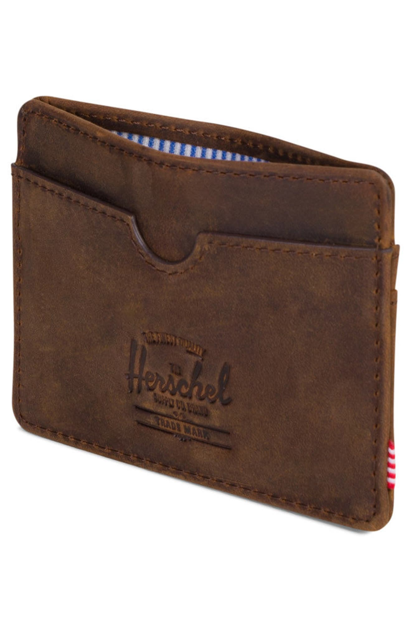 Charlie Leather Card Case,                             Alternate thumbnail 14, color,