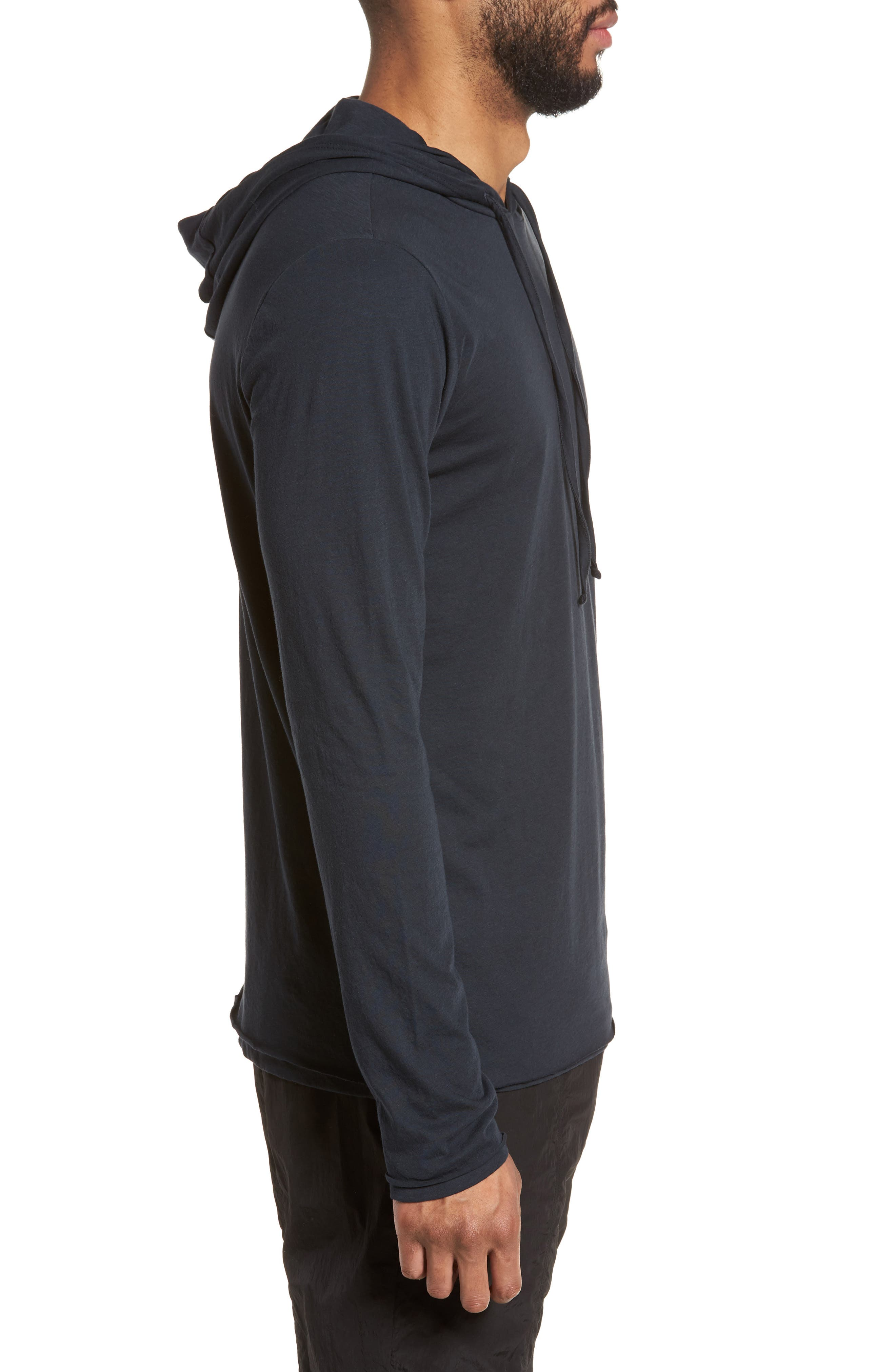 Layered Long Sleeve Pullover Hoodie,                             Alternate thumbnail 9, color,