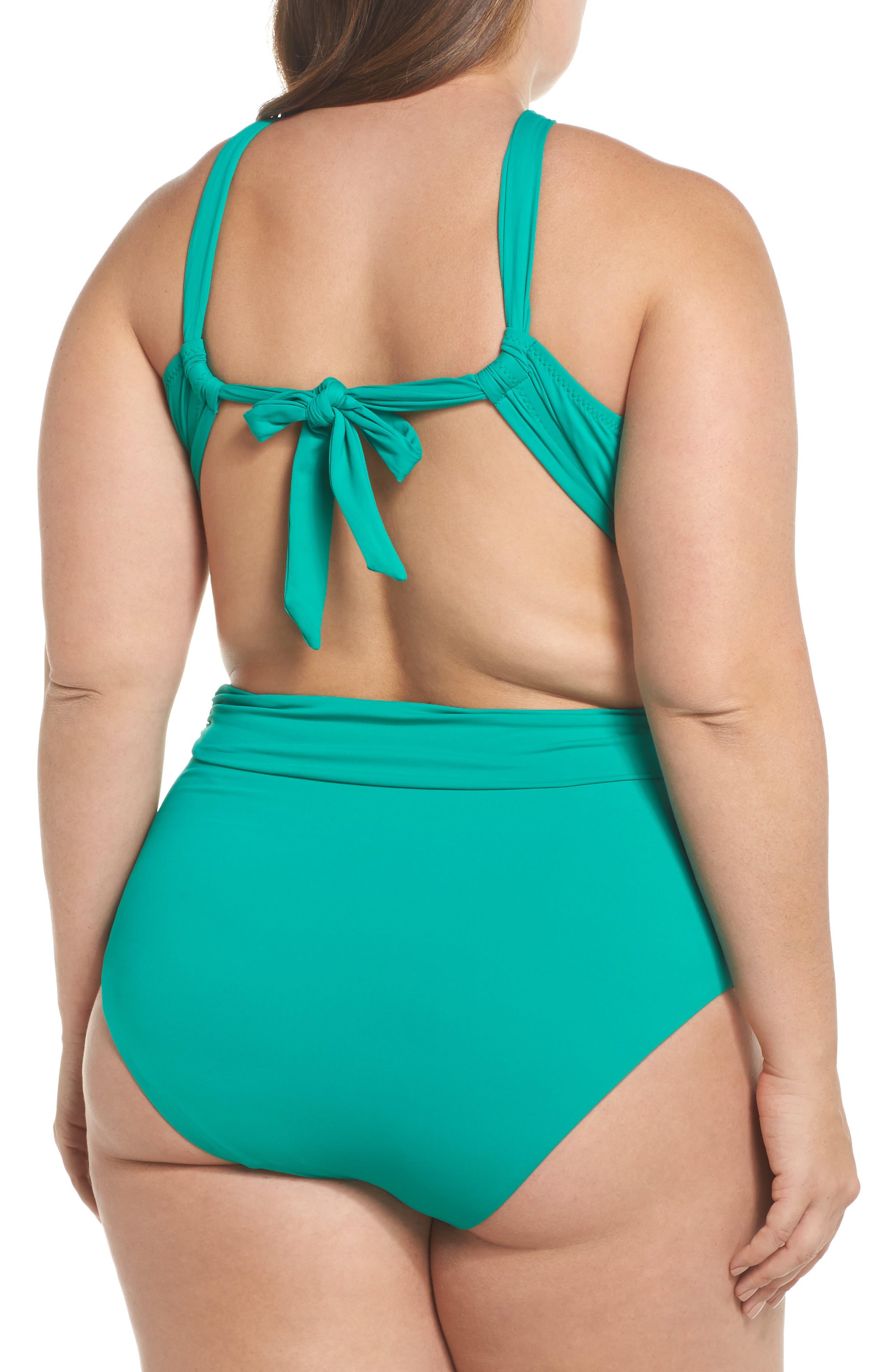 Color Splash Bikini Top,                             Alternate thumbnail 8, color,