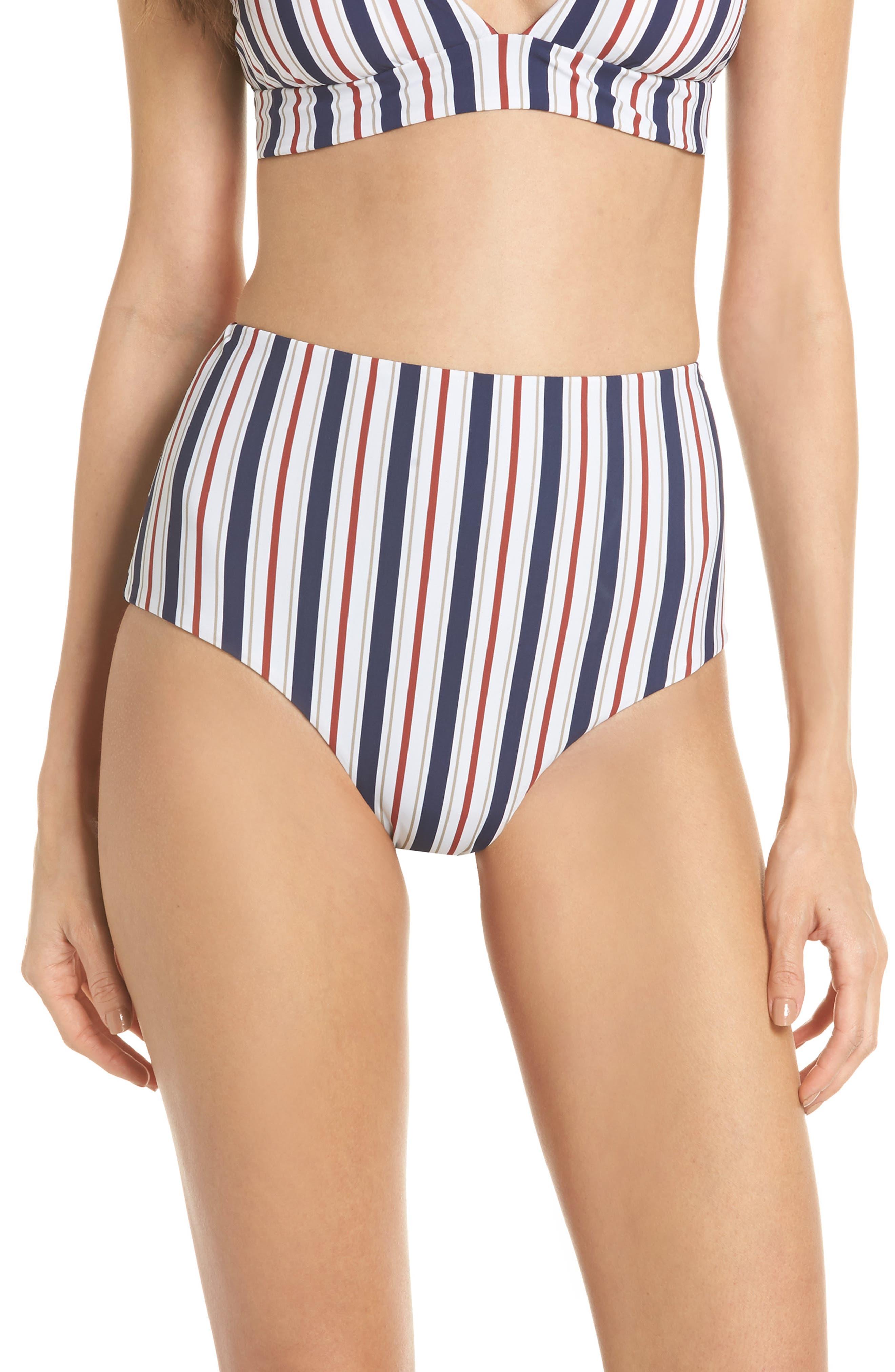 Better Than Ever High Waist Bikini Bottoms,                         Main,                         color, 960