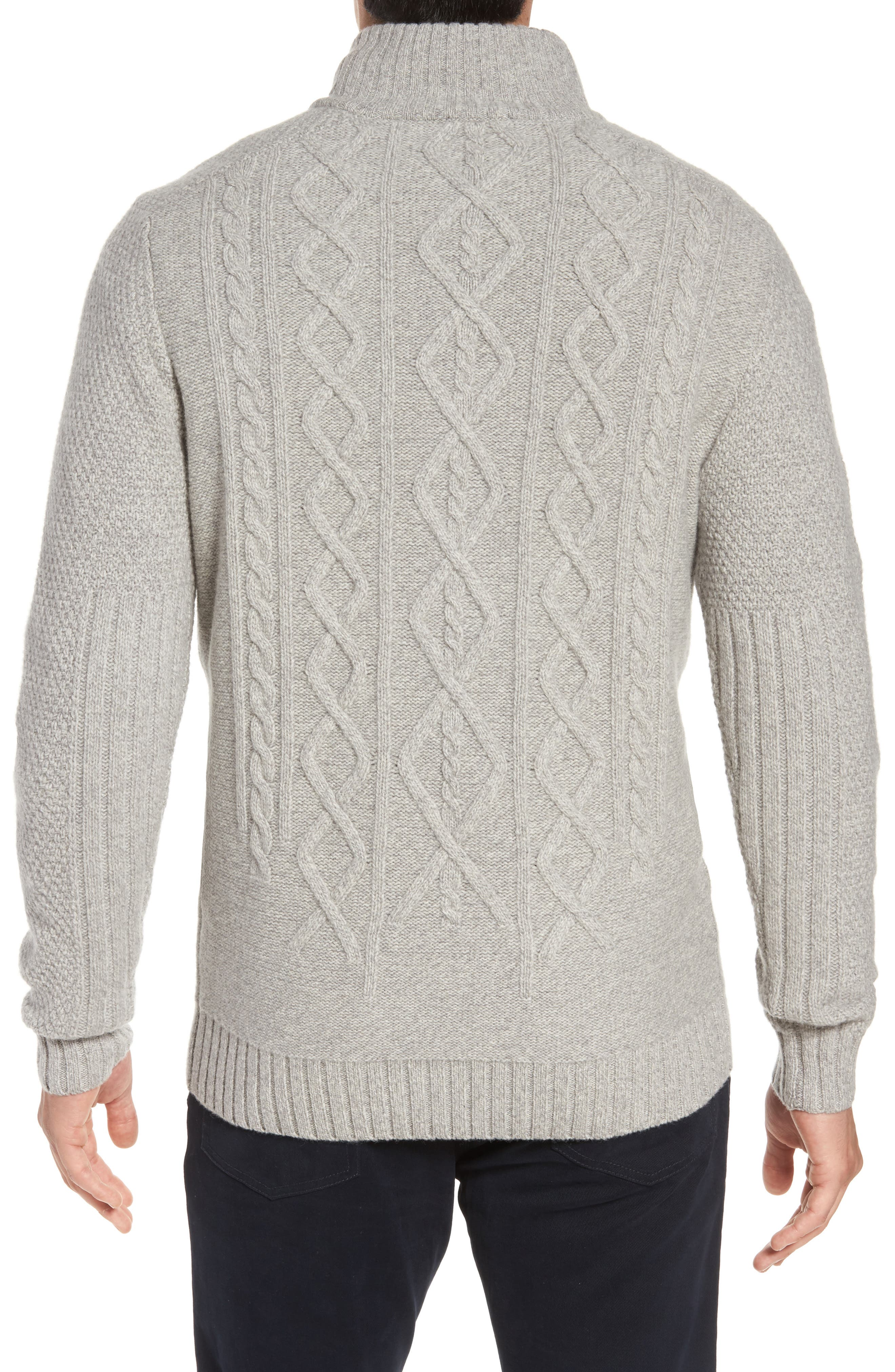 Cape Scoresby Wool Sweater,                             Alternate thumbnail 4, color,