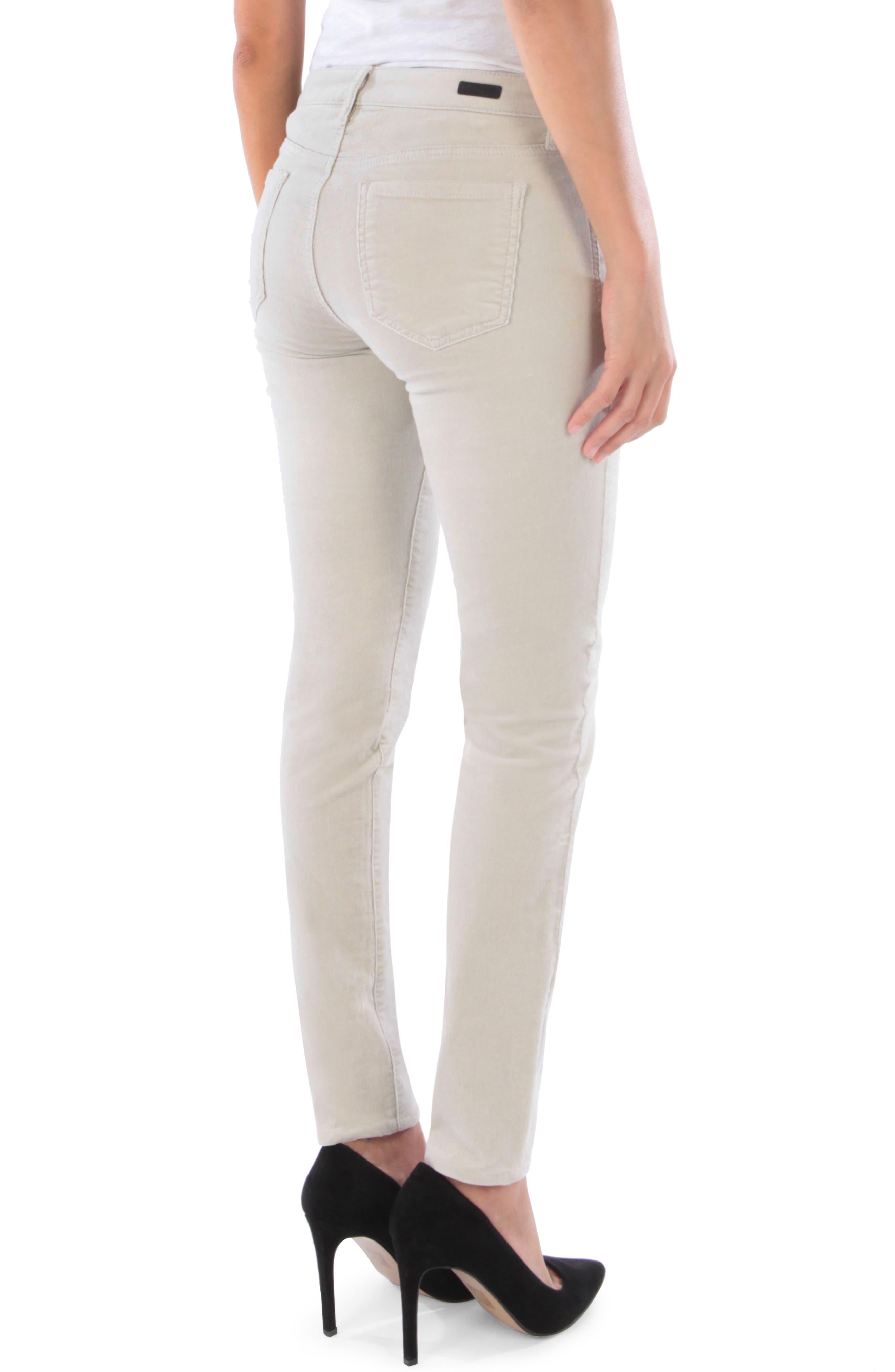 'Diana' Stretch Corduroy Skinny Pants,                             Alternate thumbnail 61, color,