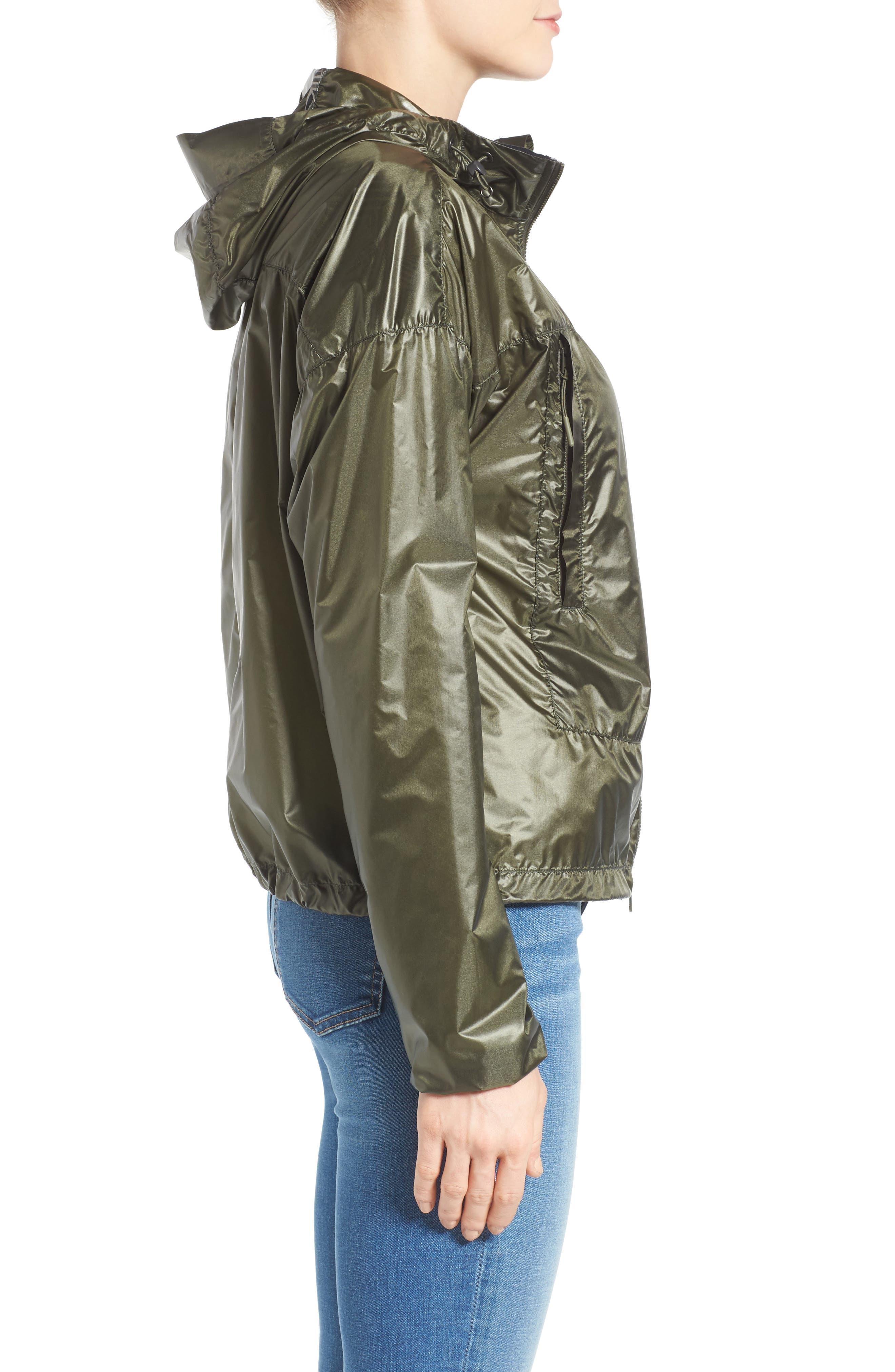 Wabasca Hooded Jacket,                             Alternate thumbnail 3, color,                             SAGE