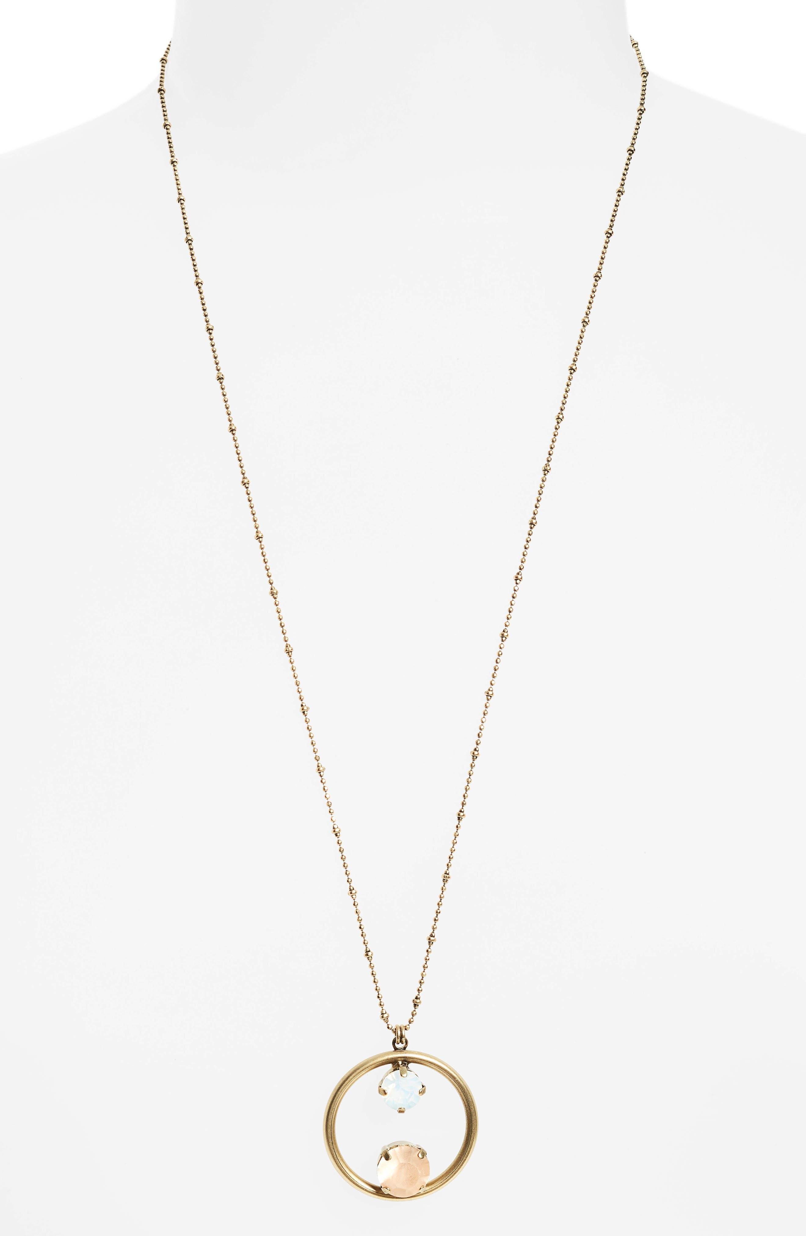 Cecelia Long Pendant Necklace,                             Alternate thumbnail 2, color,                             710