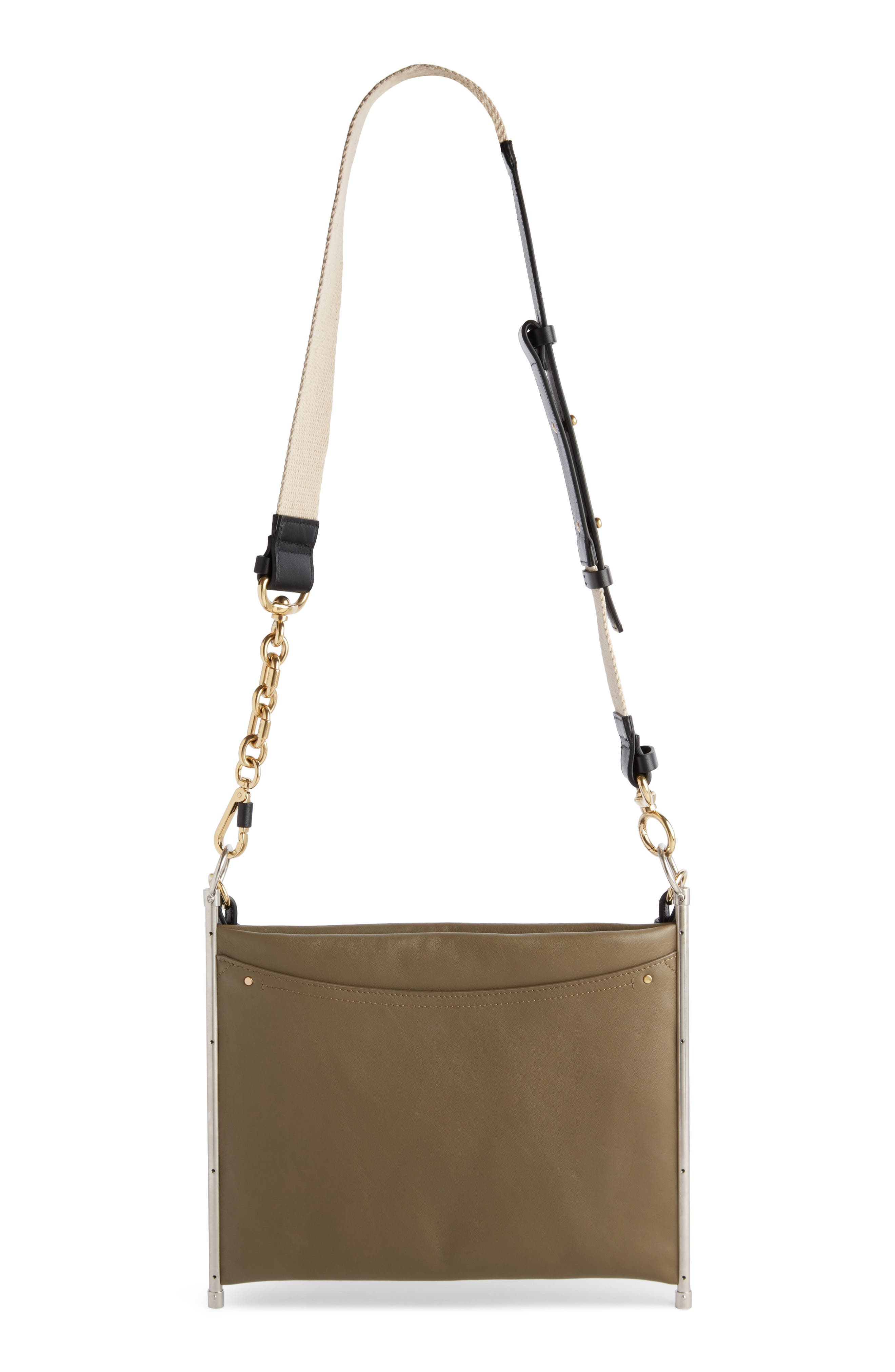 Roy Single Leather Clutch,                             Alternate thumbnail 2, color,                             020