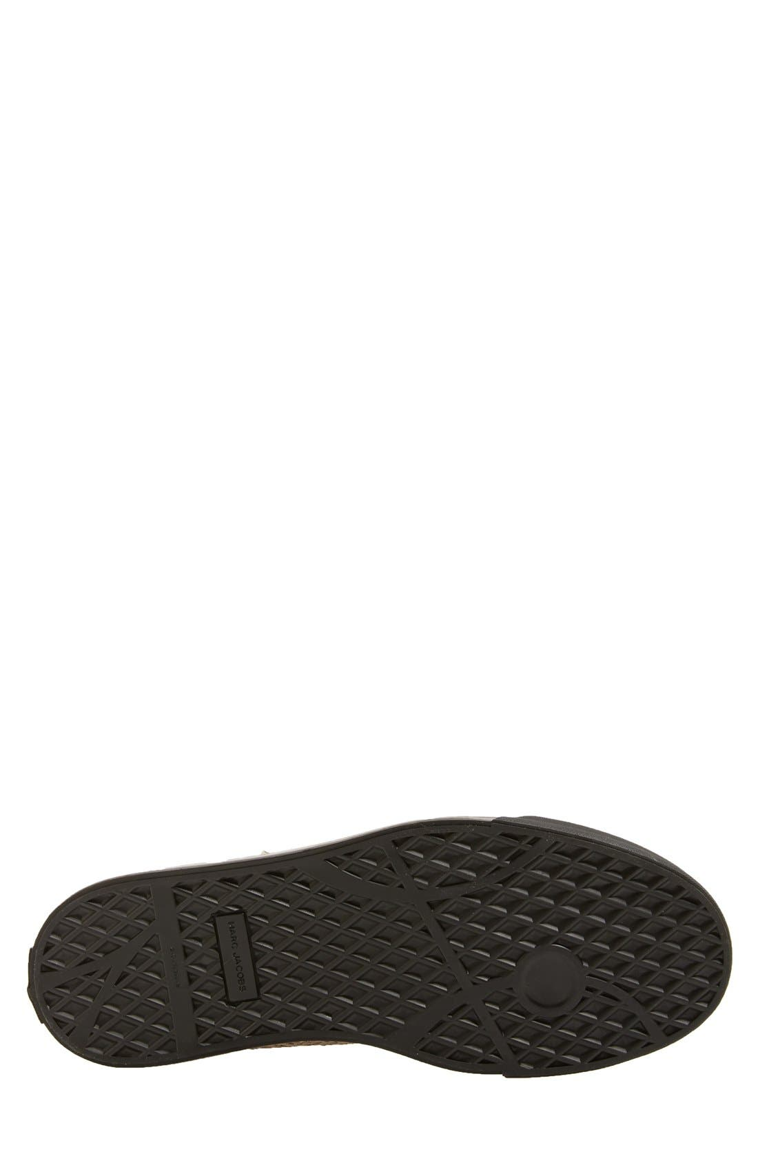 'Atomic Zip' Snake Print High Top Sneaker,                             Alternate thumbnail 4, color,                             001