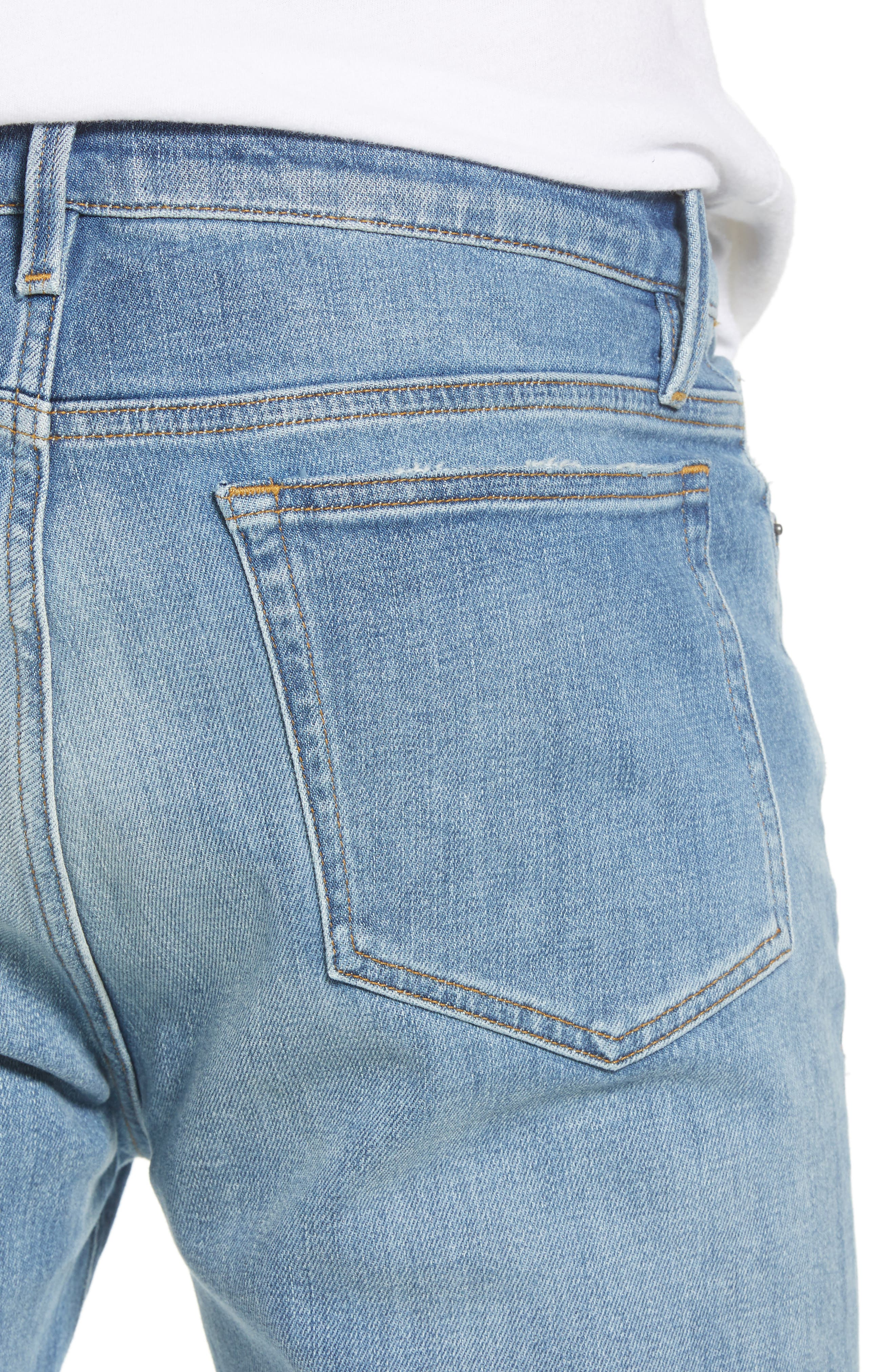 L'Homme Skinny Jeans,                             Alternate thumbnail 4, color,                             PICKNEY