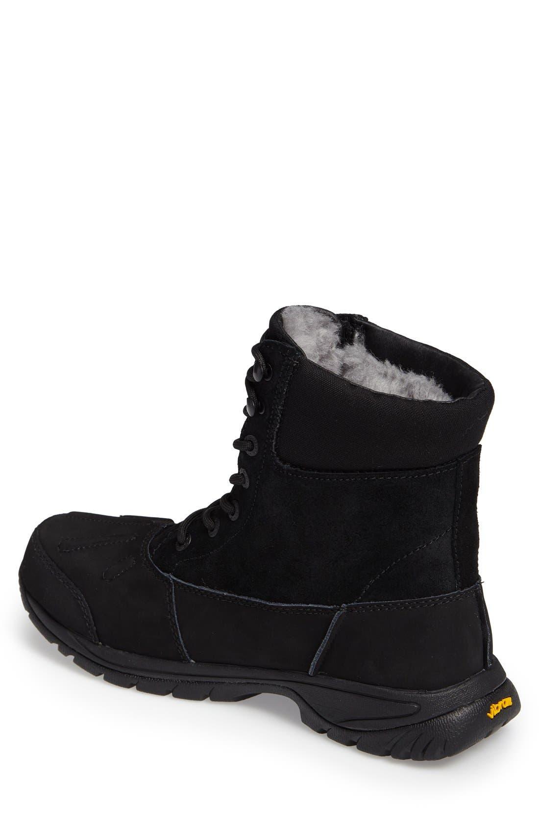 'Metcalf' Snow Boot,                             Alternate thumbnail 6, color,                             001