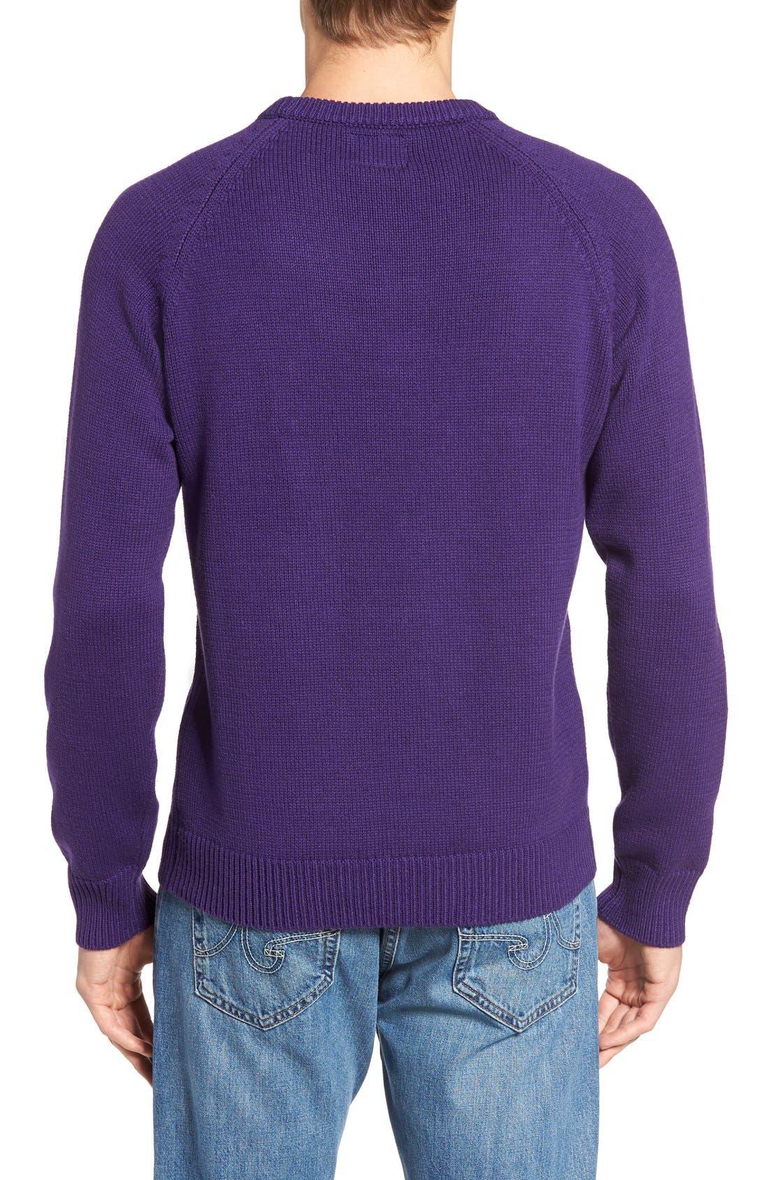 HILLFLINT,                             TCU Heritage Sweater,                             Alternate thumbnail 2, color,                             500