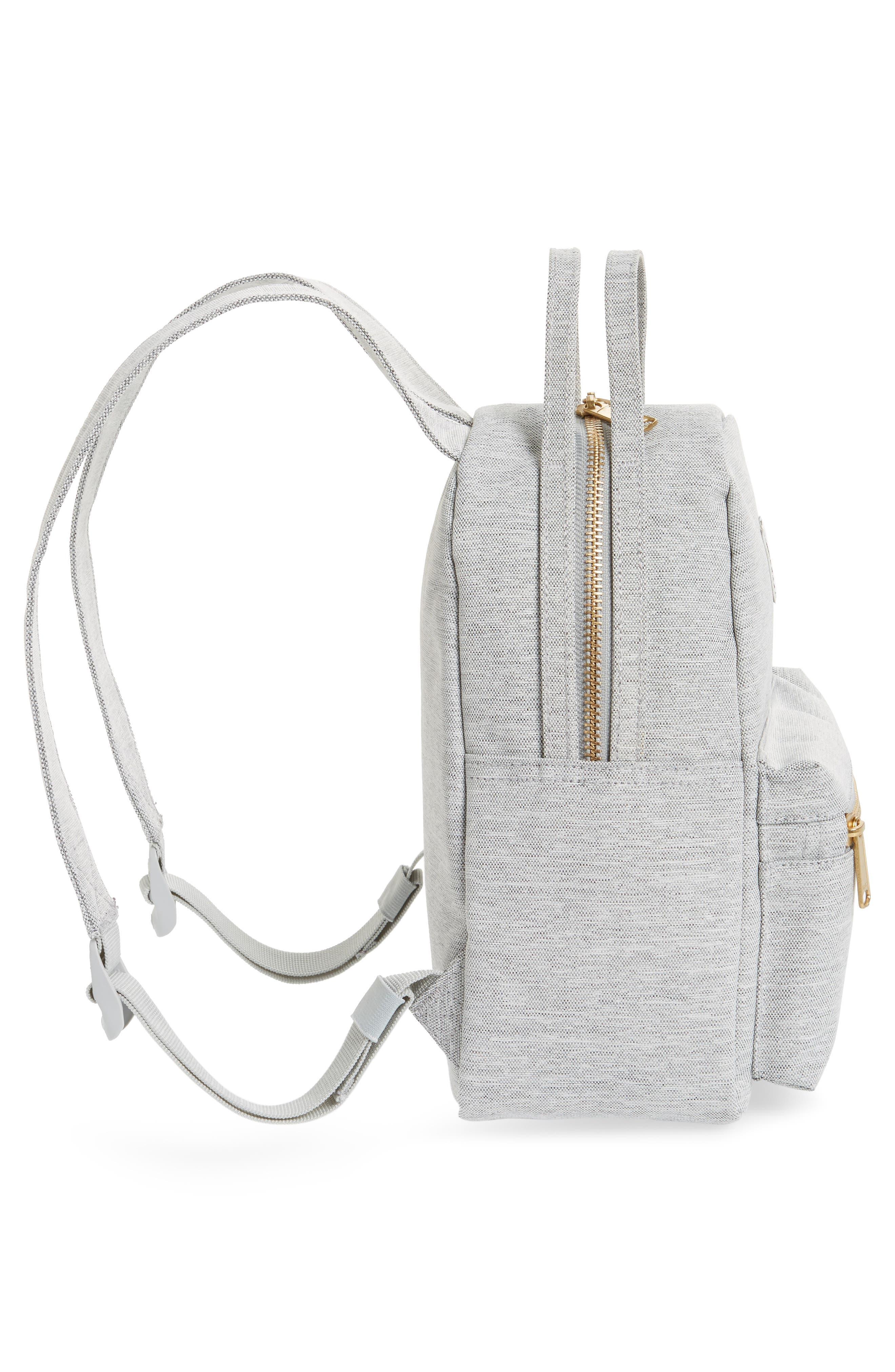 Mini Nova Backpack,                             Alternate thumbnail 5, color,                             LIGHT GREY CROSSHATCH