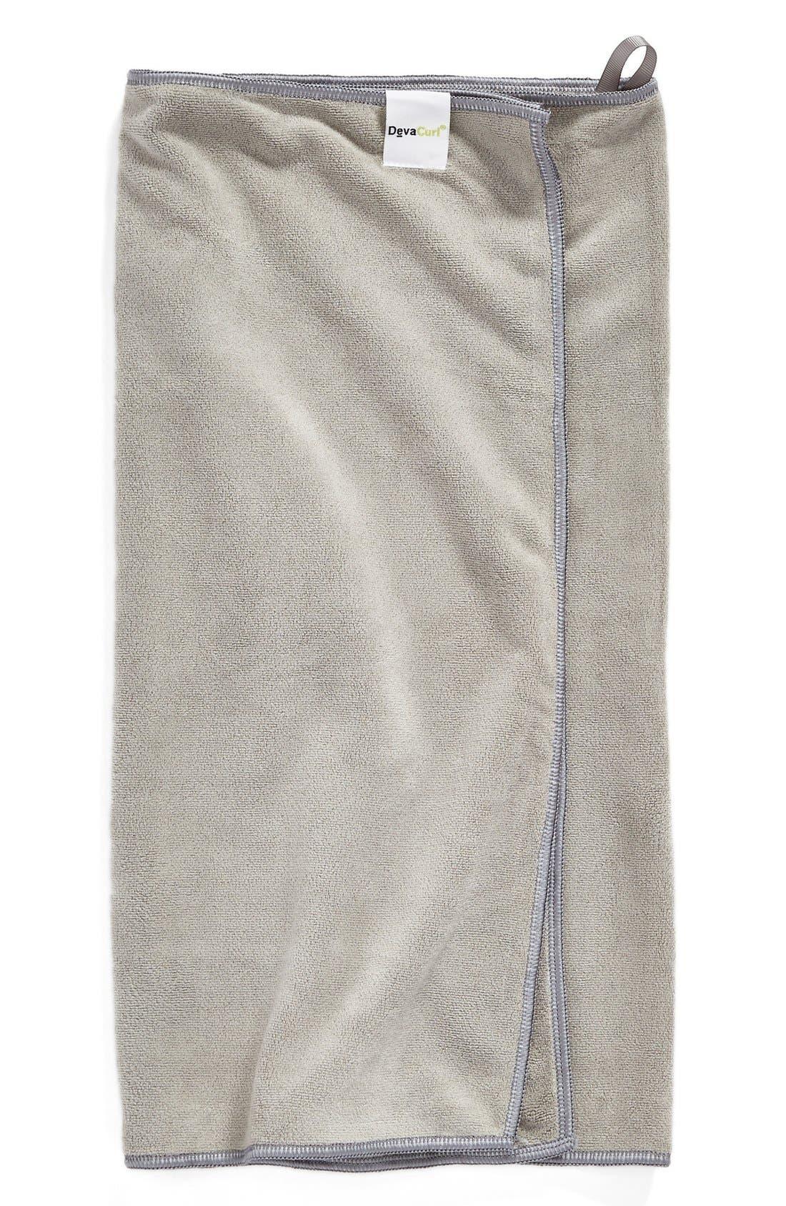DevaTowel Anti-Frizz Microfiber Towel,                             Alternate thumbnail 4, color,                             NO COLOR