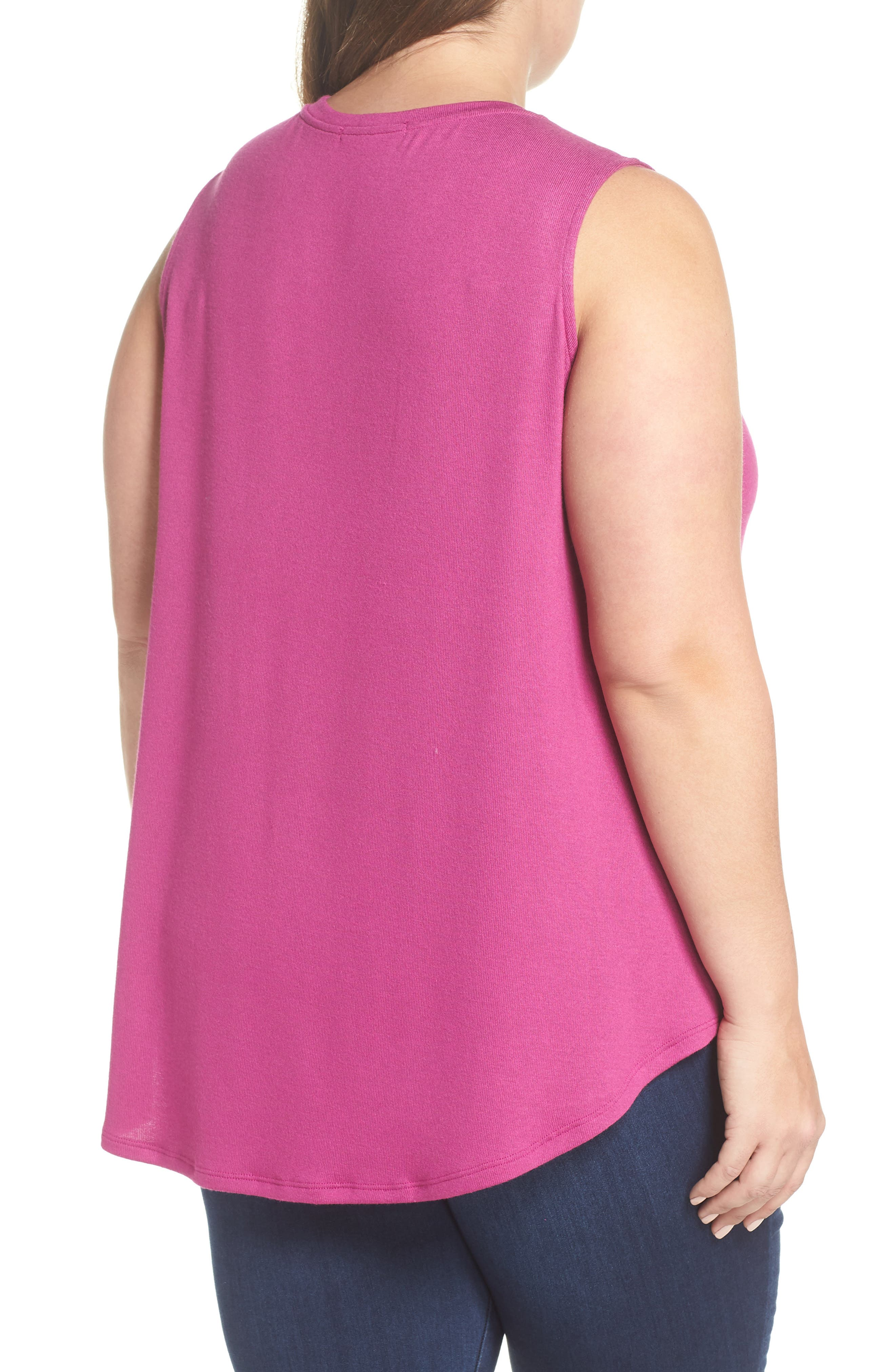 x Living in Yellow Millie Muscle Tank,                             Alternate thumbnail 4, color,