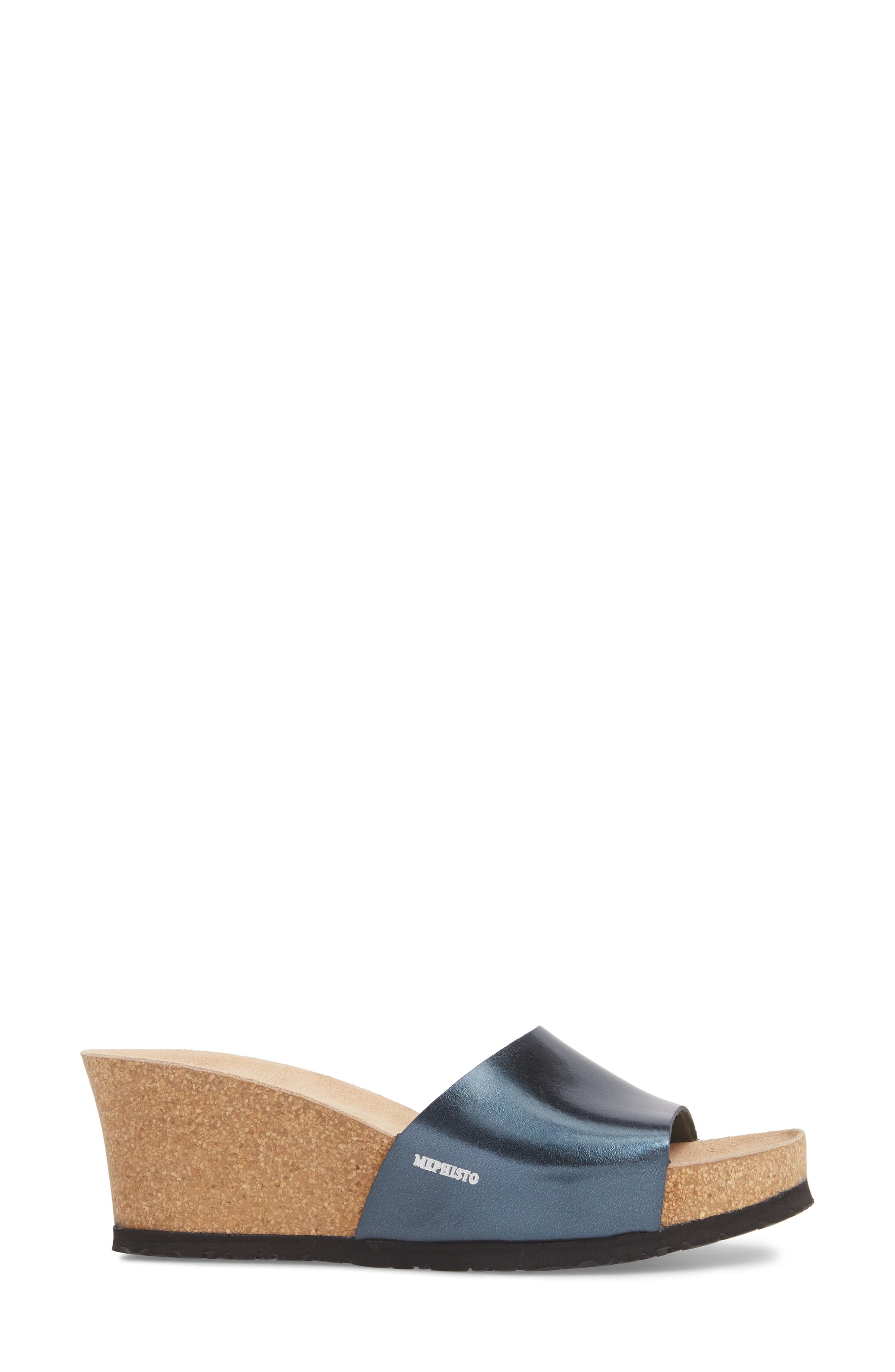 Lise Platform Wedge Sandal,                             Alternate thumbnail 14, color,