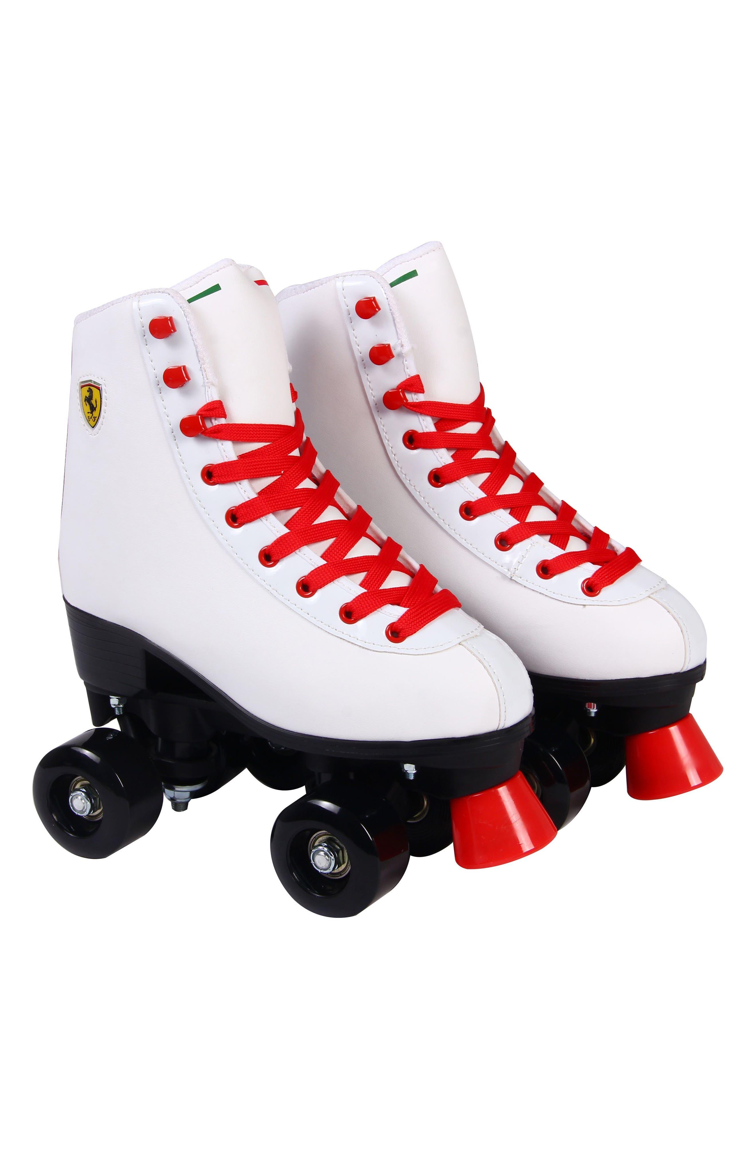 Classic Roller Skates,                             Main thumbnail 1, color,                             FERRARI WHITE