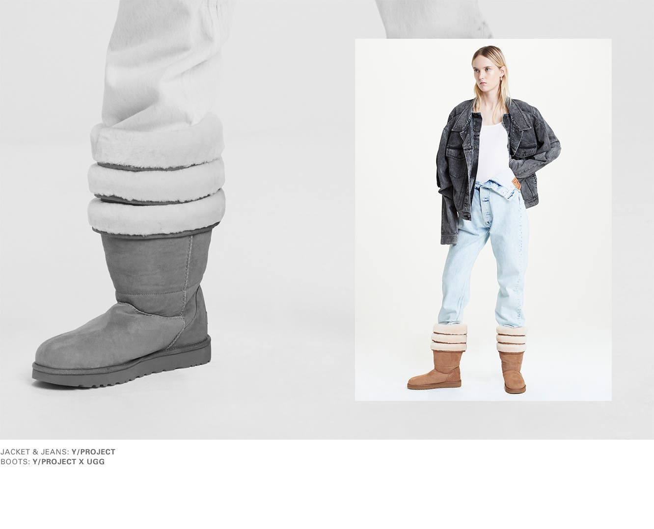 Just in: Y/Project and UGG collaboration.