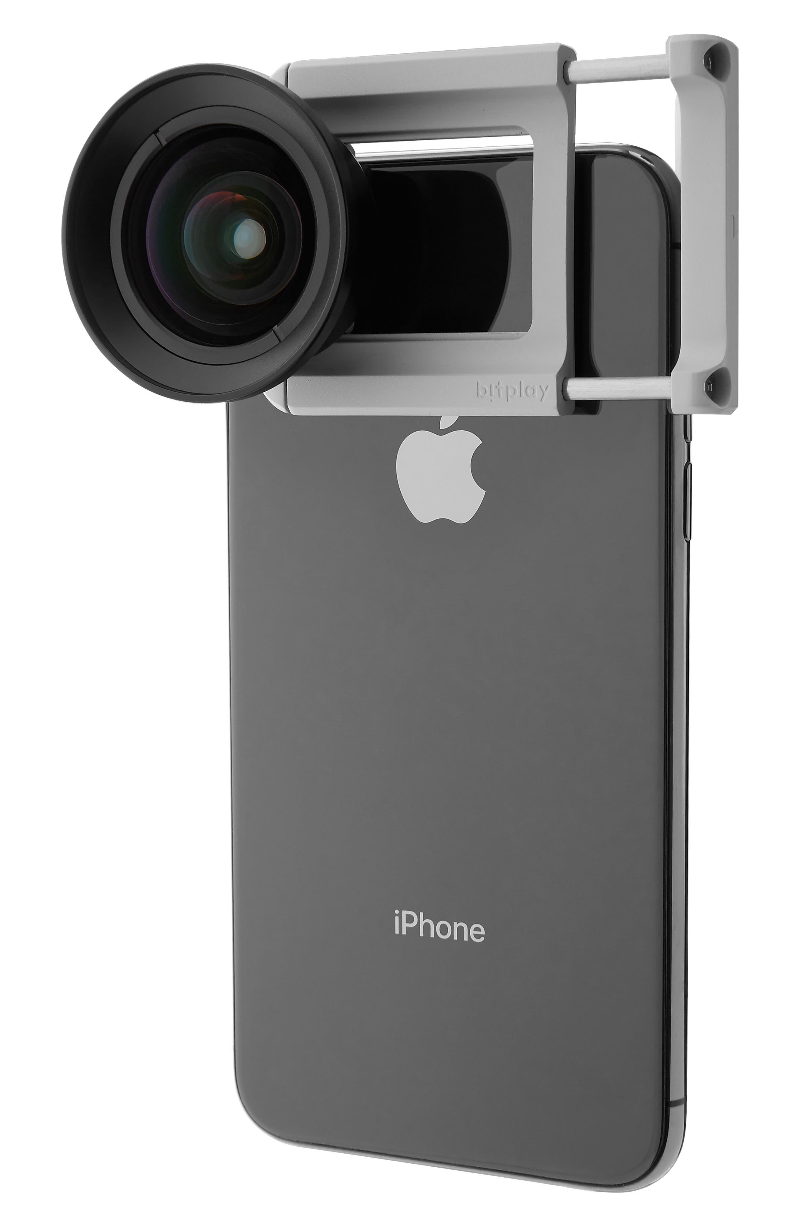 AllClip Lens Holder + Premium HD Wide Angle Lens,                             Alternate thumbnail 2, color,                             SILVER