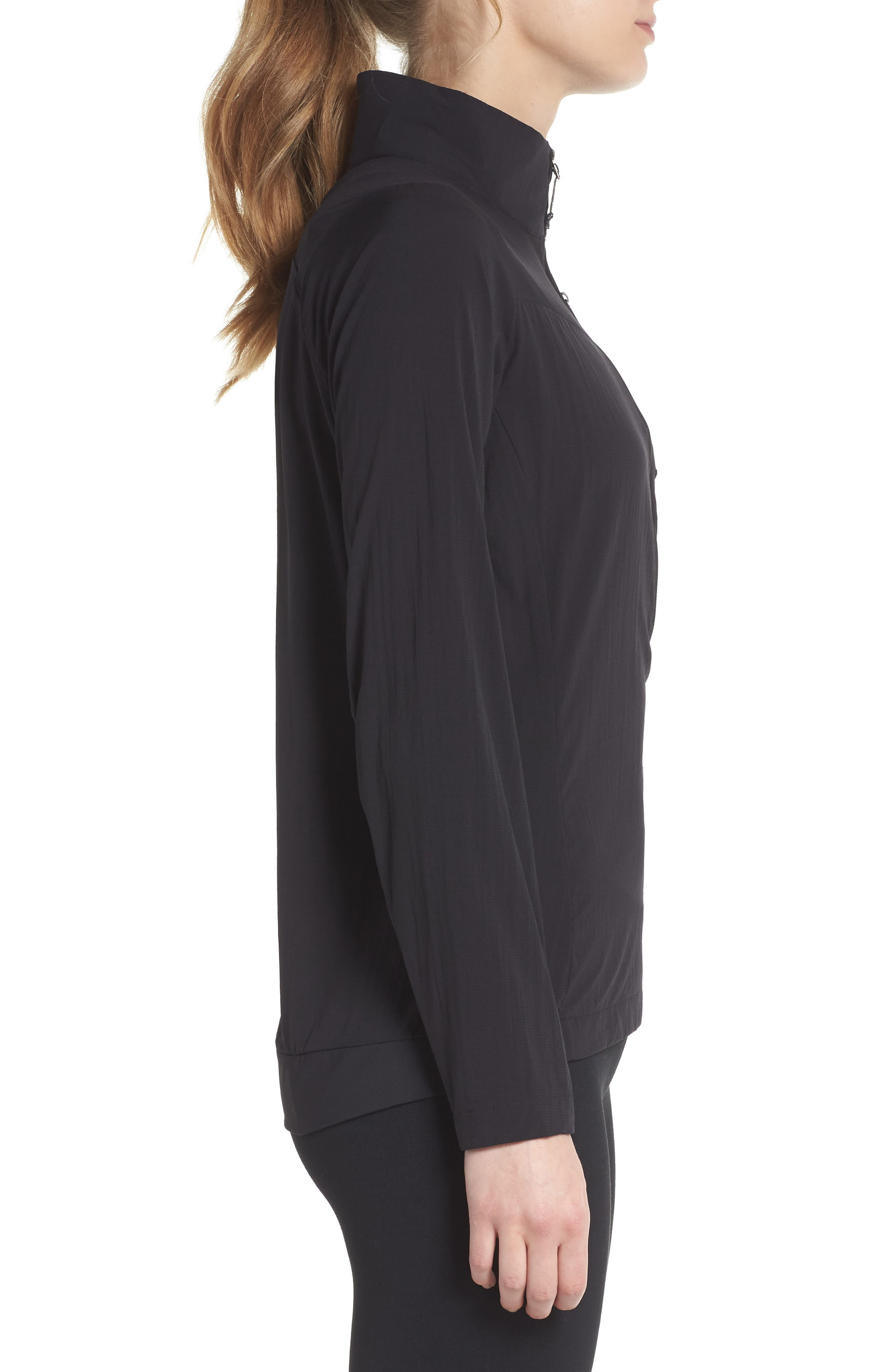 Airshed Pullover,                             Alternate thumbnail 3, color,                             BLACK