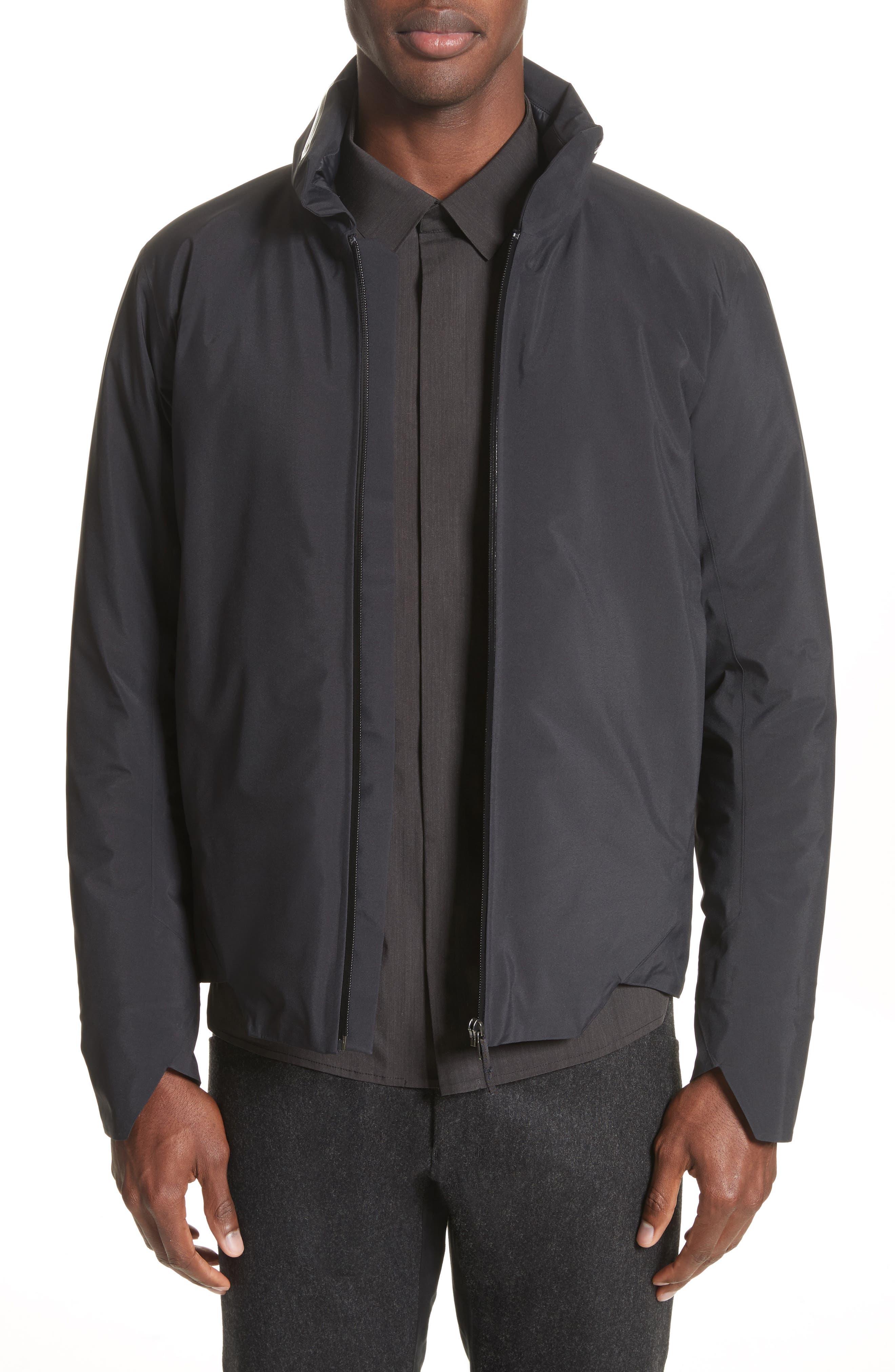 Achrom Waterproof Jacket,                             Main thumbnail 1, color,                             001
