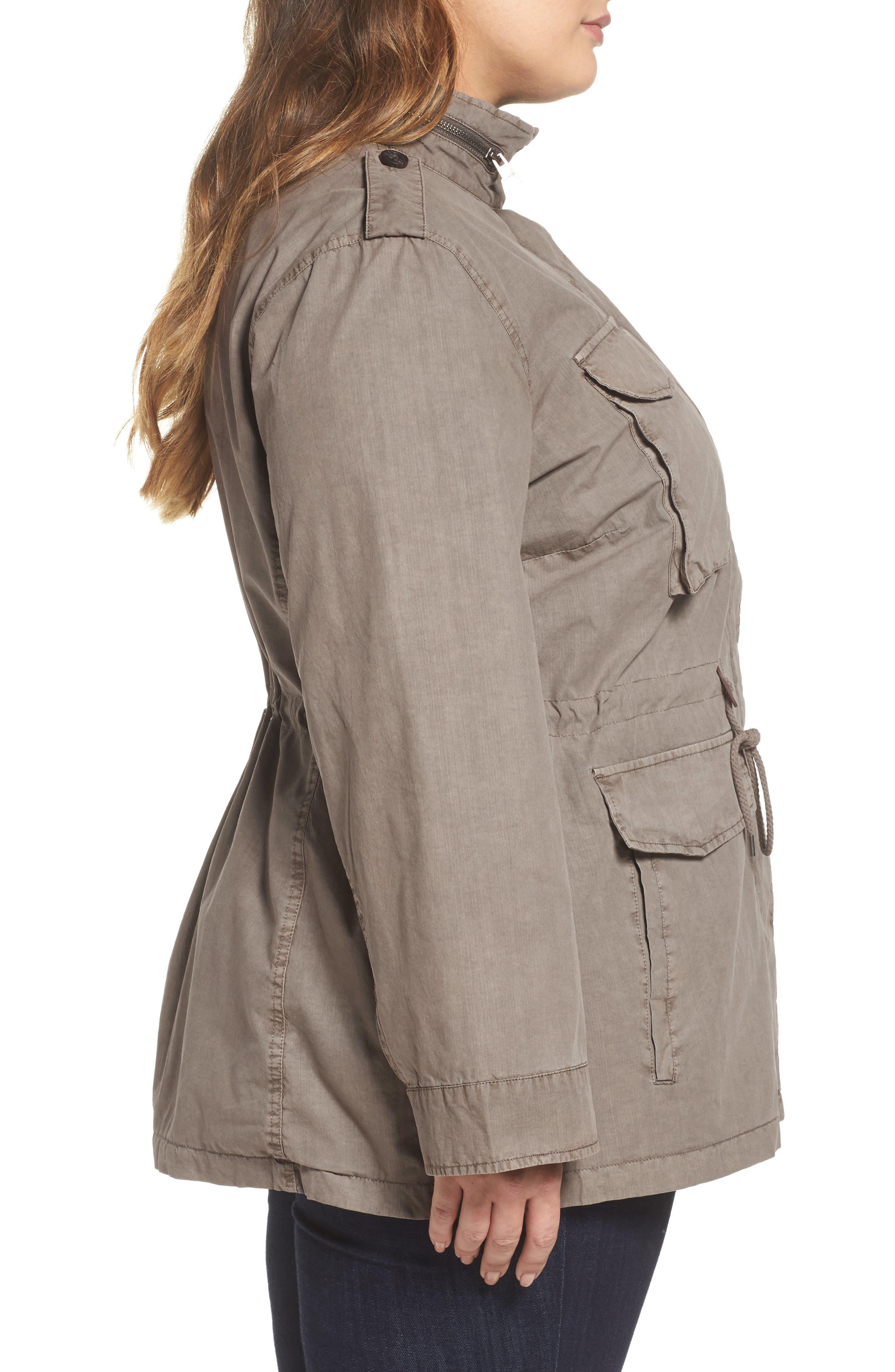 Cotton Military Jacket,                             Alternate thumbnail 3, color,                             033