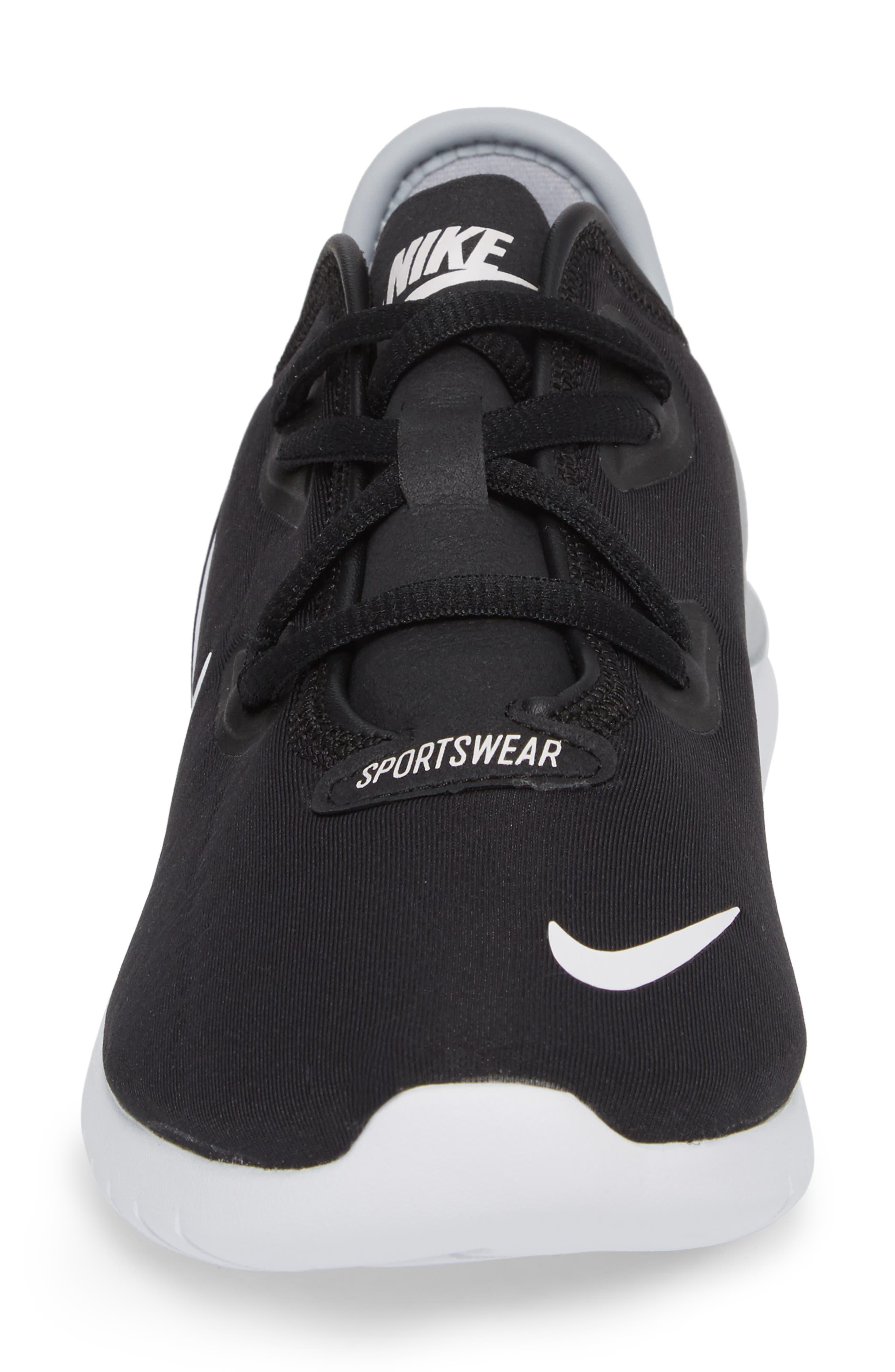 Hakata Sneaker,                             Alternate thumbnail 4, color,                             BLACK/ WHITE