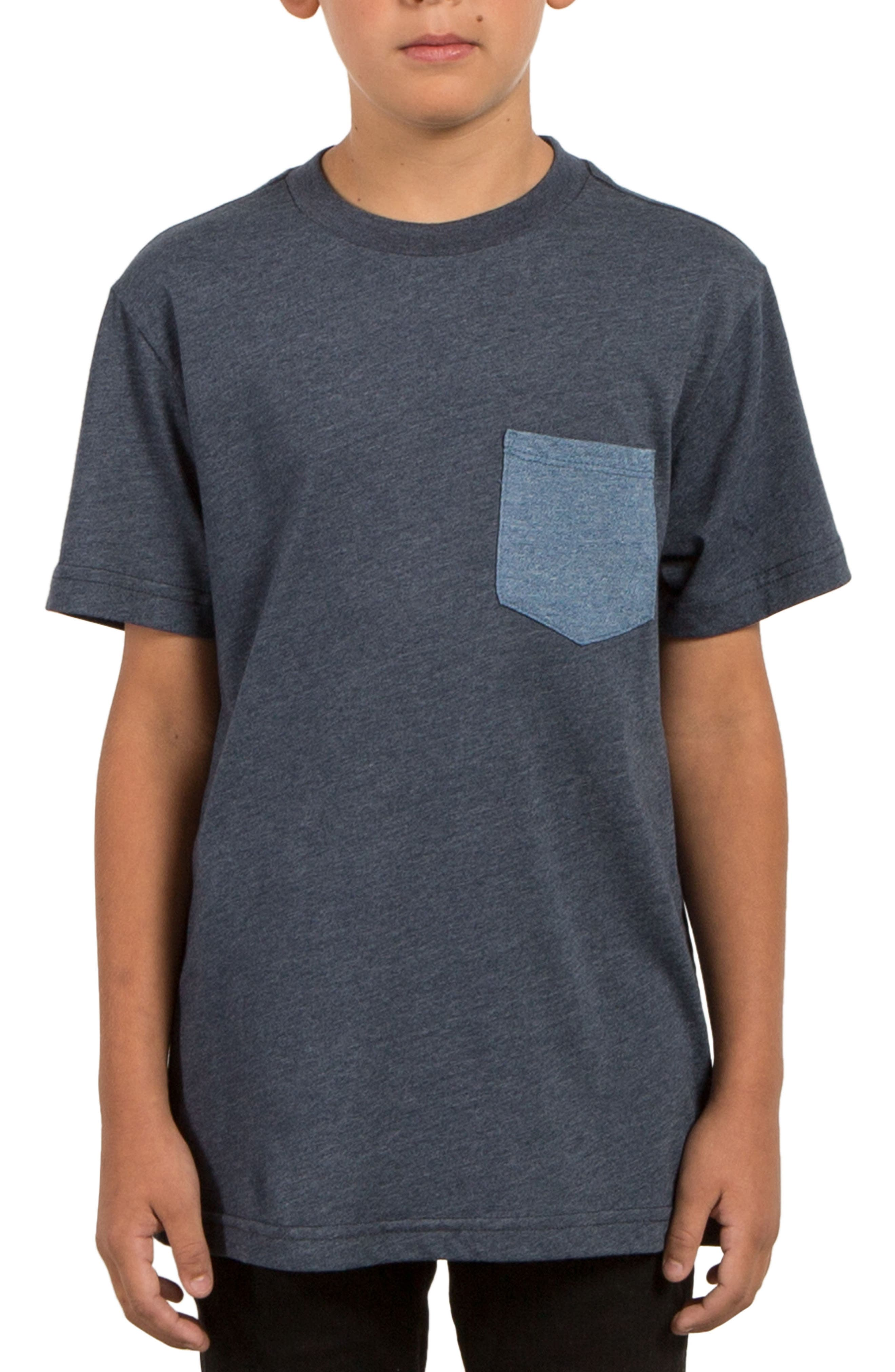 Twisted Pocket T-Shirt,                         Main,                         color, 405