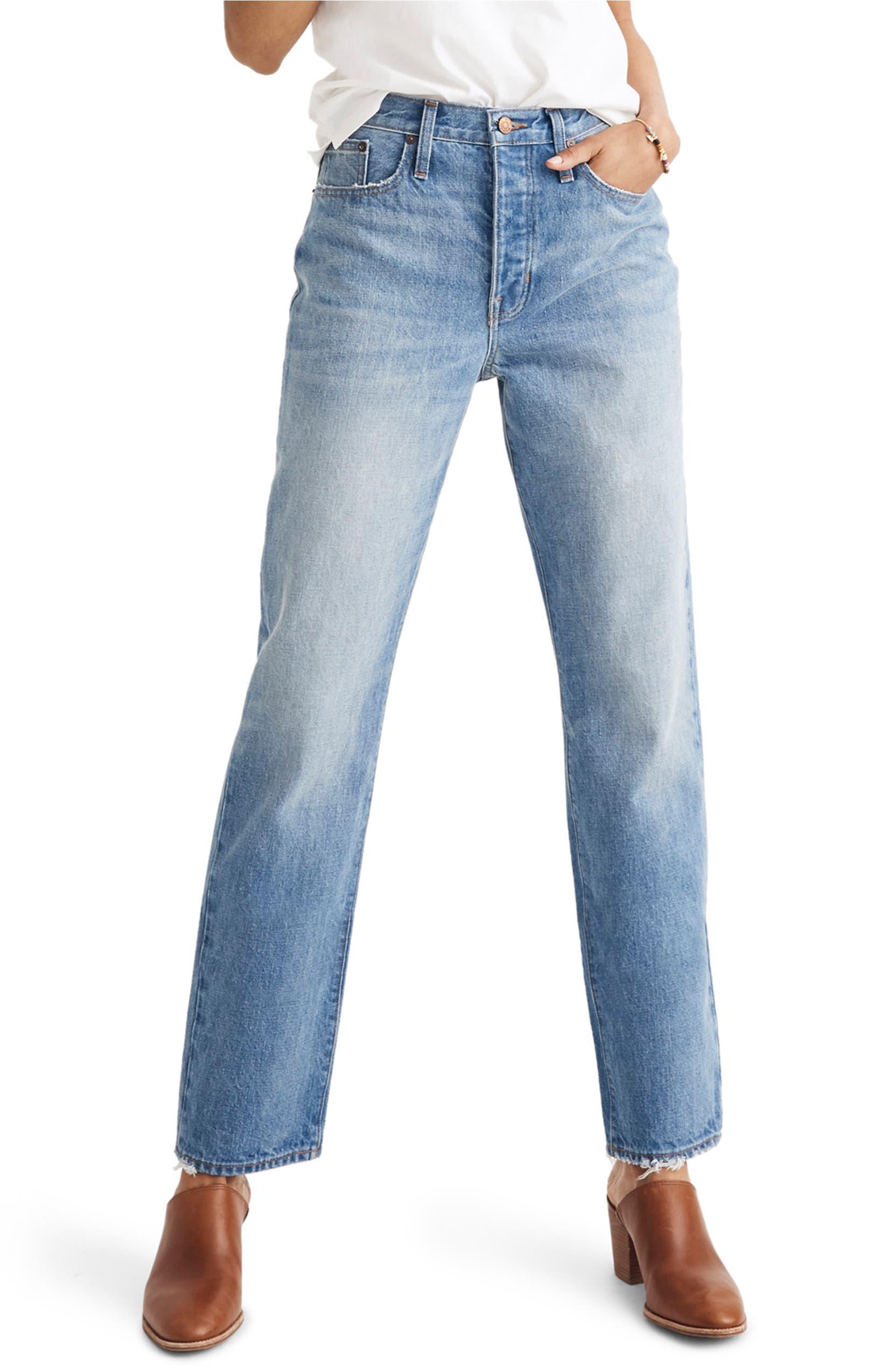 Madewell The Dadjean High Waist Jeans (Dustin)  86cacefb7b2