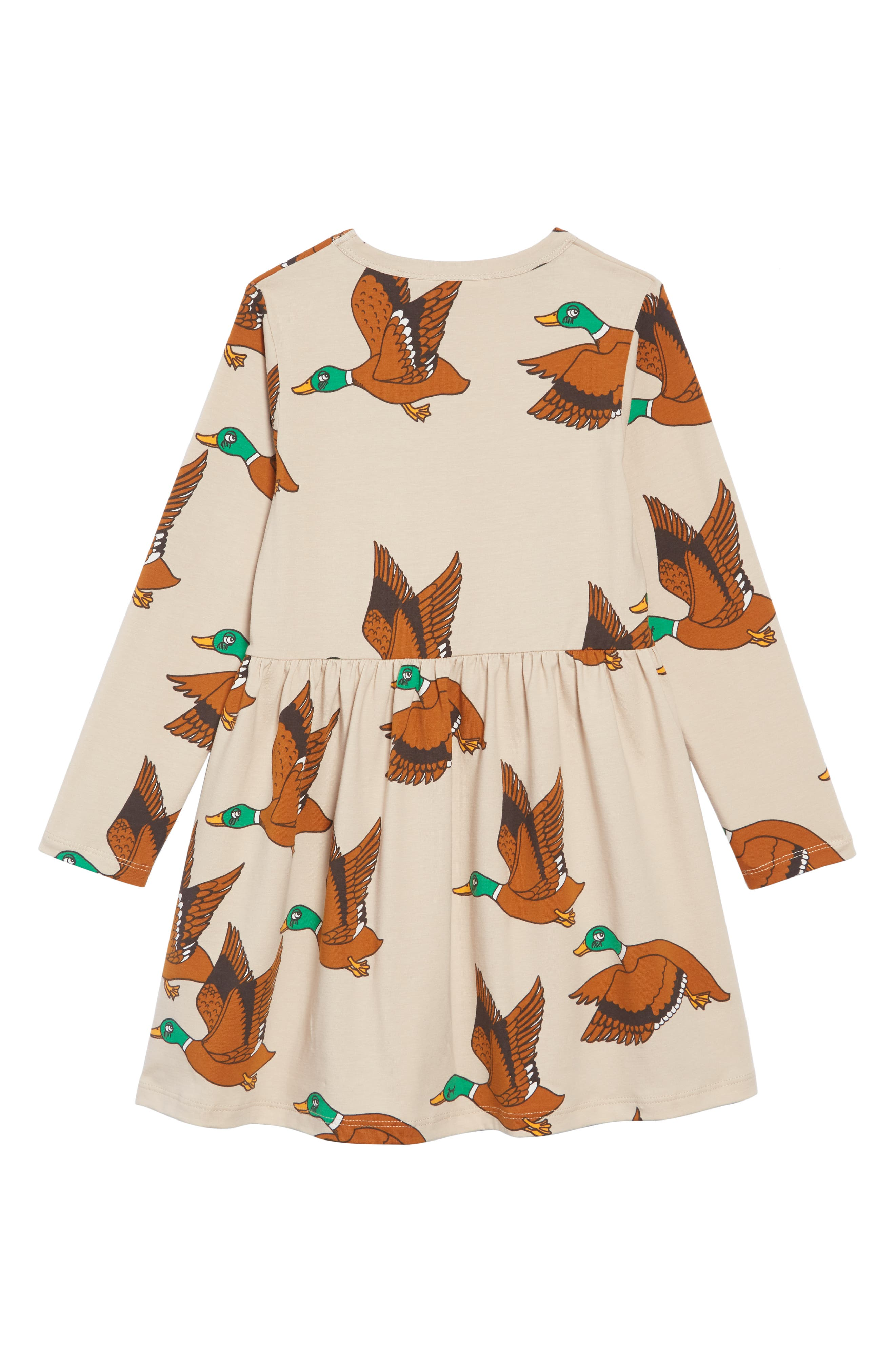 Duck Dress,                             Alternate thumbnail 2, color,                             BEIGE
