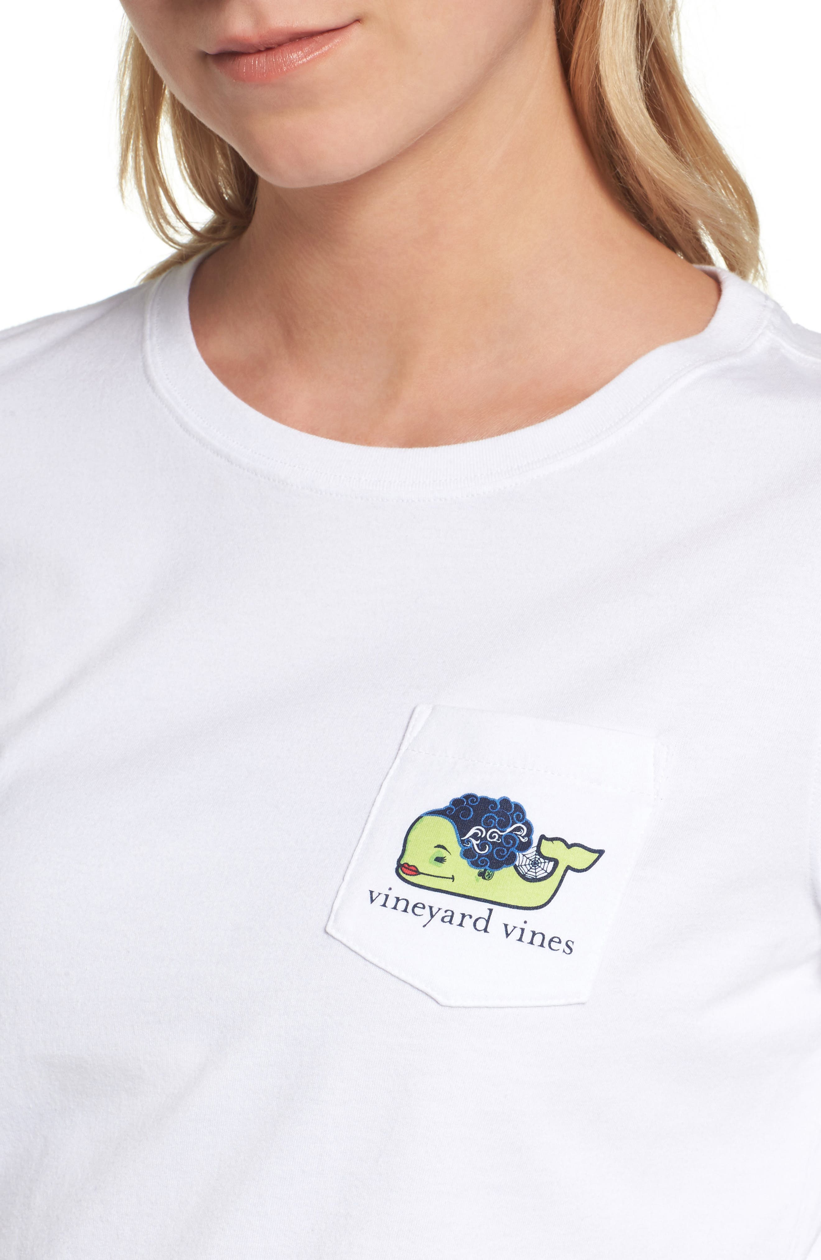 Bride of Frank Whale Pocket Tee,                             Alternate thumbnail 4, color,                             100