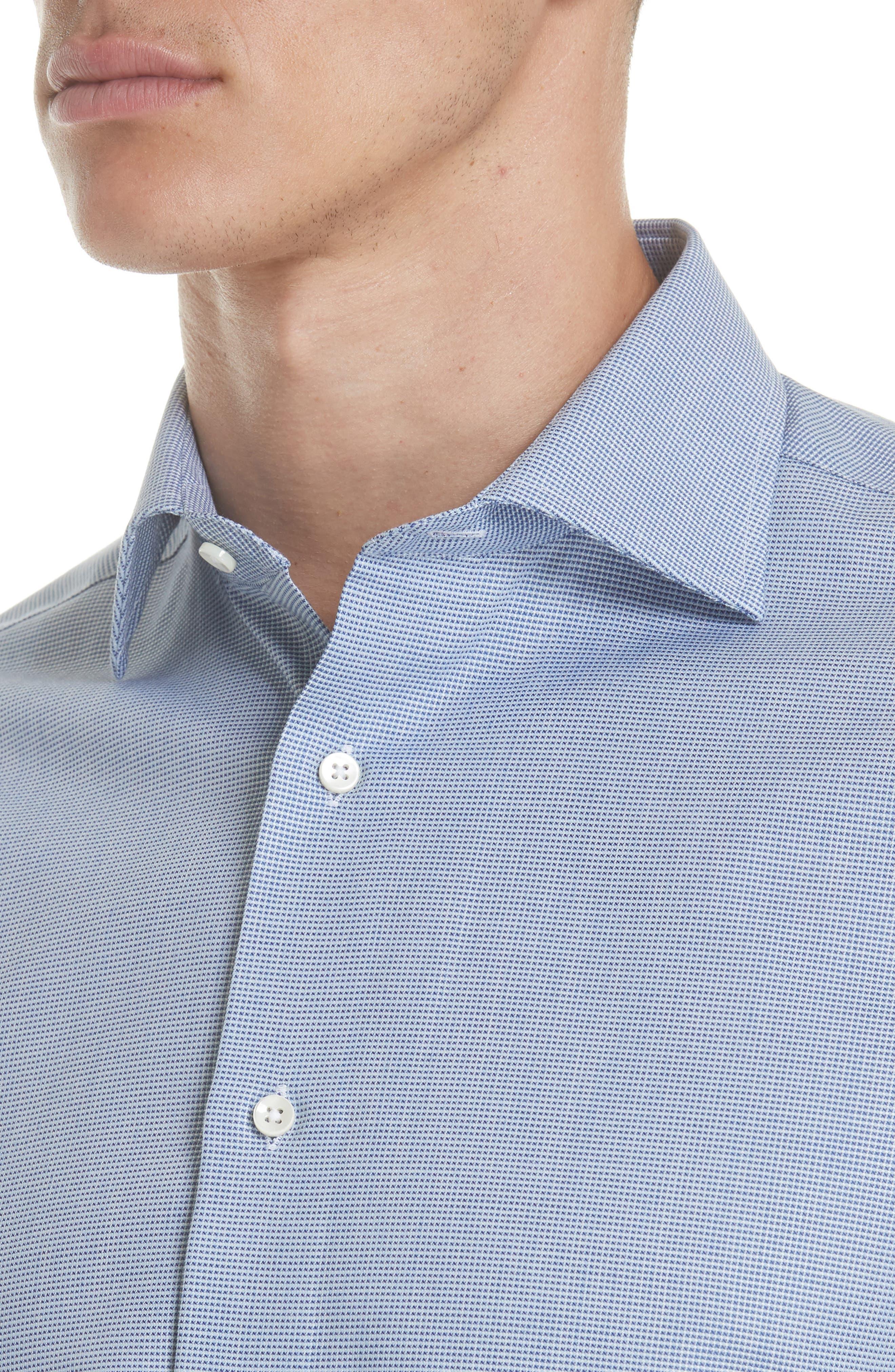 Regular Fit Solid Dress Shirt,                             Alternate thumbnail 2, color,                             401