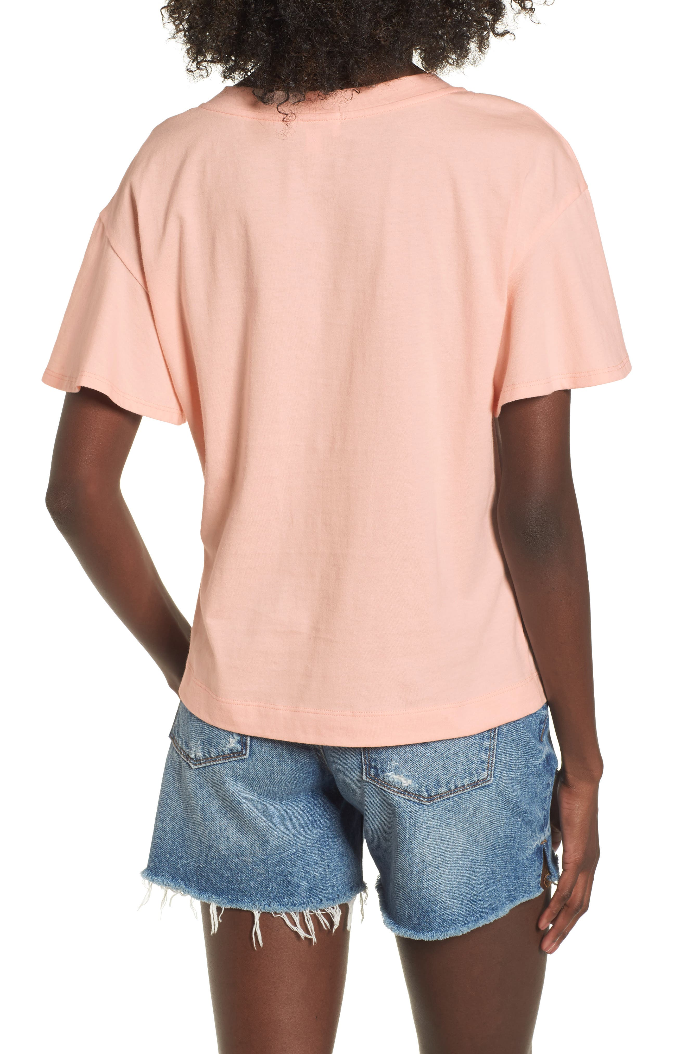 Flutter Sleeve Tee,                             Alternate thumbnail 6, color,