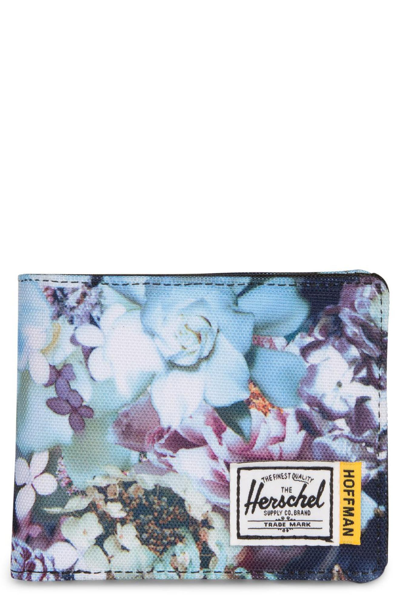 Hoffman Roy Wallet,                             Main thumbnail 1, color,                             WINTER FLORAL