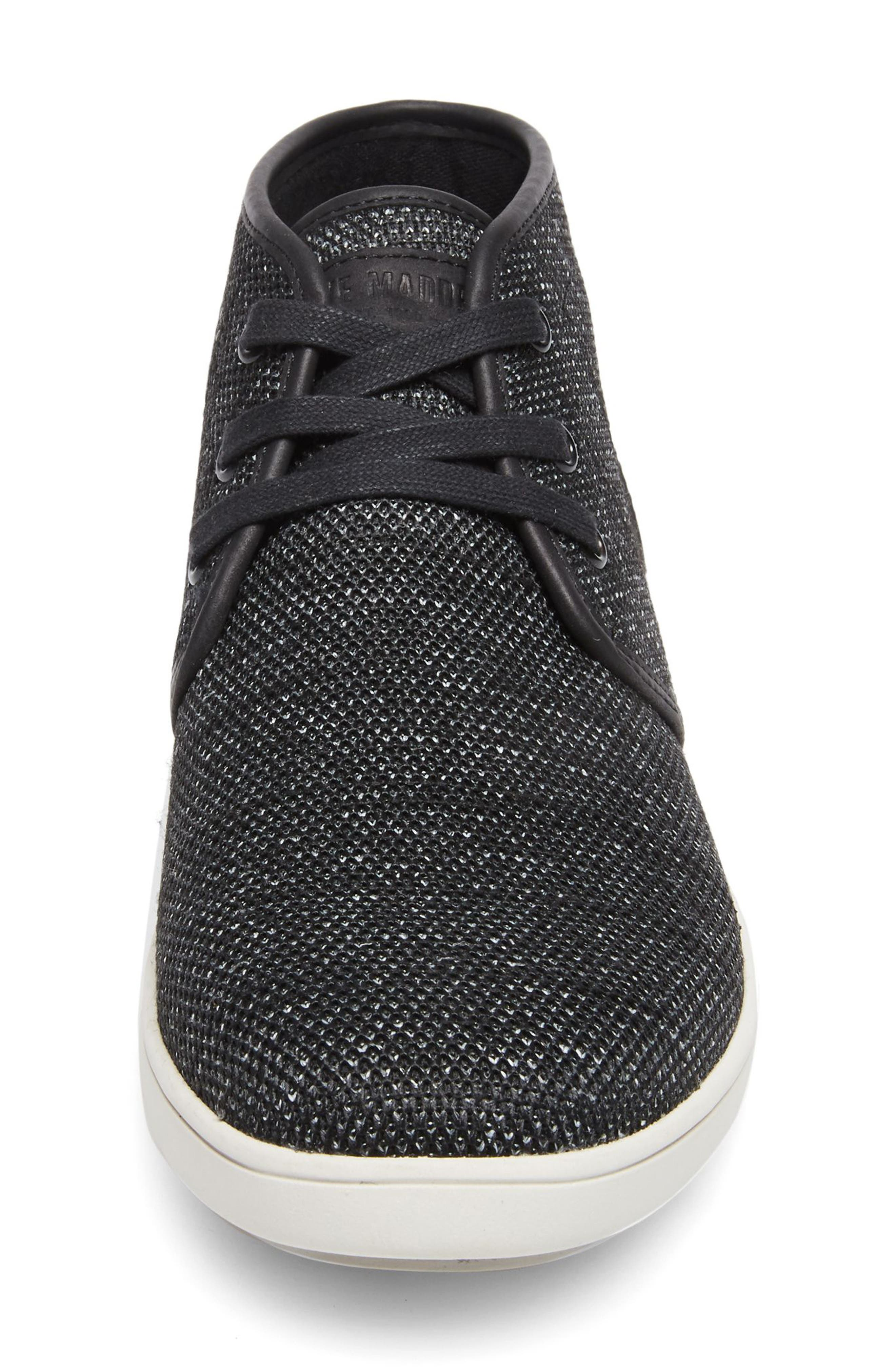 Fowler Knit Mid Top Sneaker,                             Alternate thumbnail 4, color,                             003