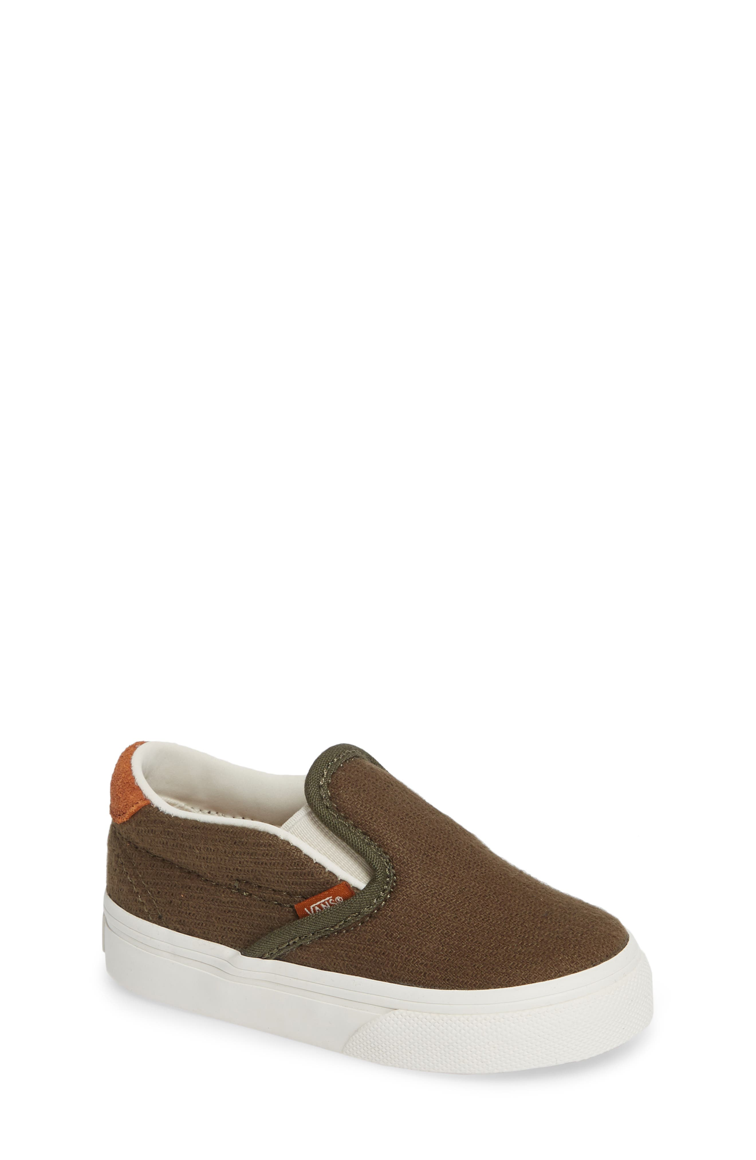 59 Slip-On Sneaker,                             Main thumbnail 1, color,                             FLANNEL DUSTY OLIVE