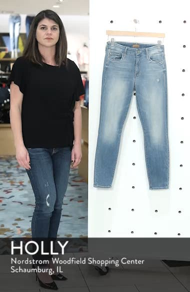 The Looker Crop Skinny Jeans, sales video thumbnail