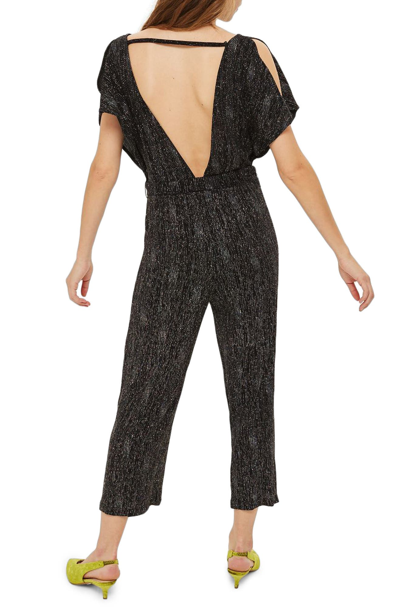 Rainbow Glitter Jumpsuit,                             Alternate thumbnail 2, color,                             001