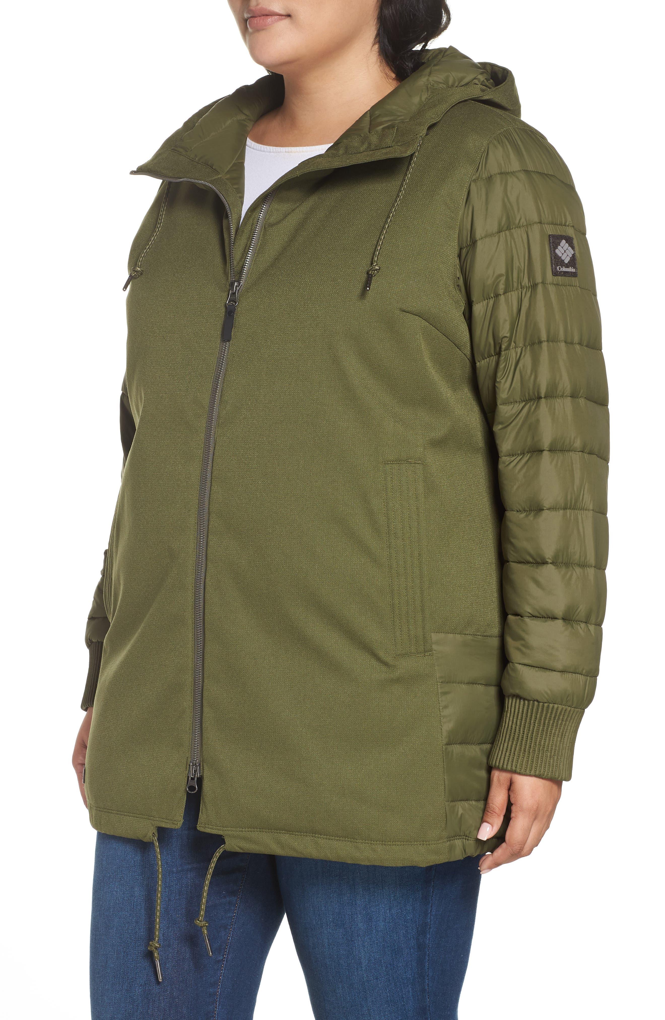 Boundary Bay Waterproof Hybrid Jacket,                             Alternate thumbnail 3, color,                             383