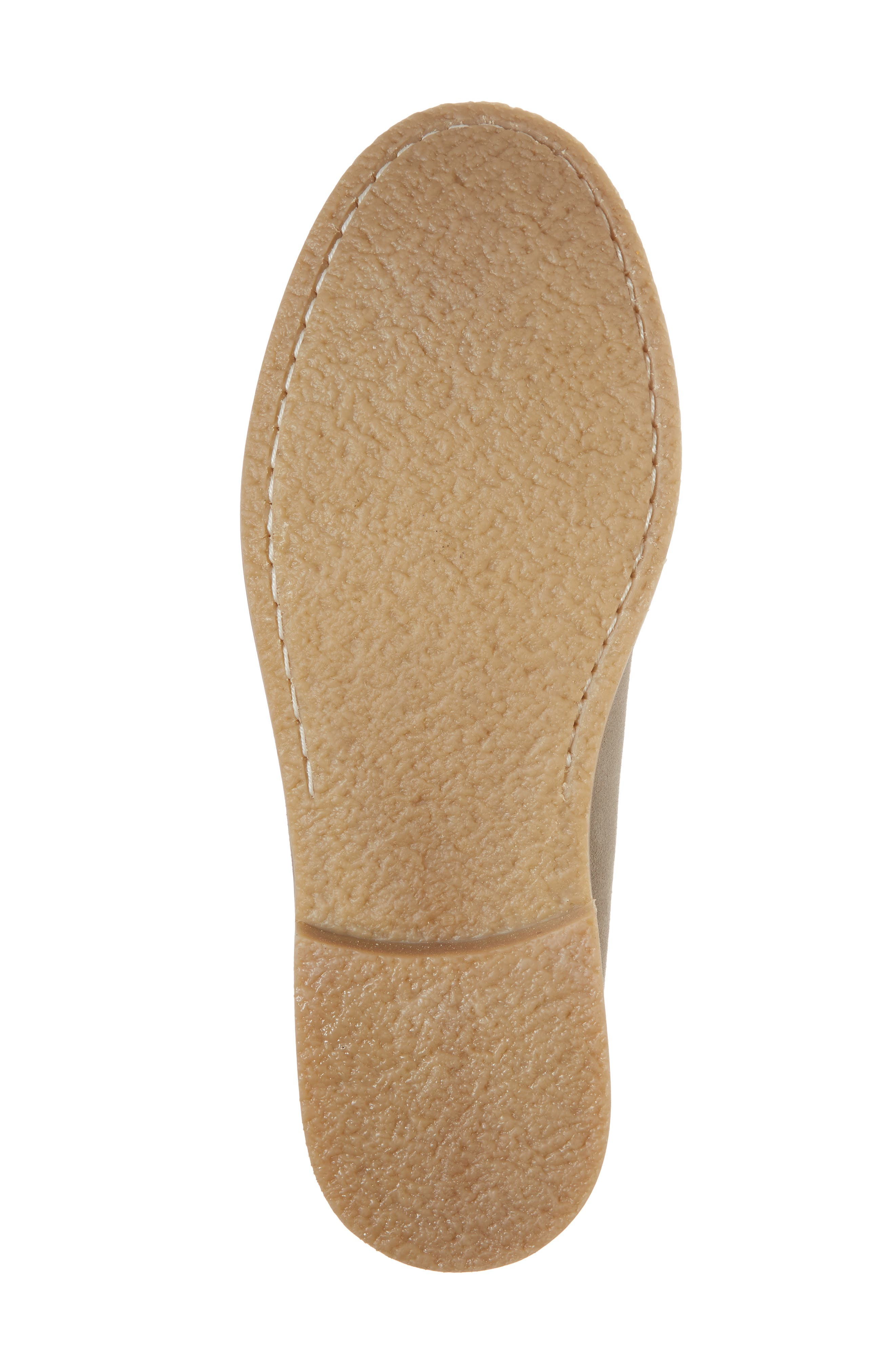 Wayne Textured Penny Loafer,                             Alternate thumbnail 6, color,                             EARTH BEIGE