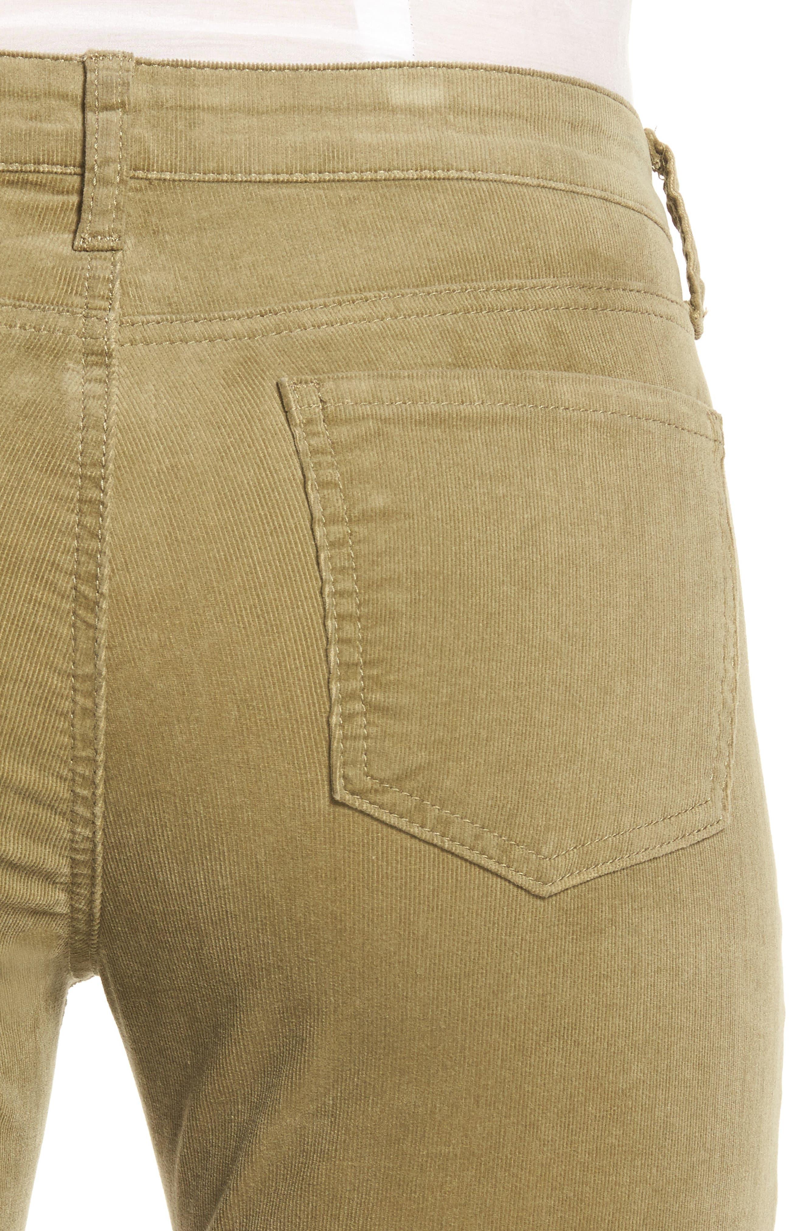 'Diana' Stretch Corduroy Skinny Pants,                             Alternate thumbnail 183, color,