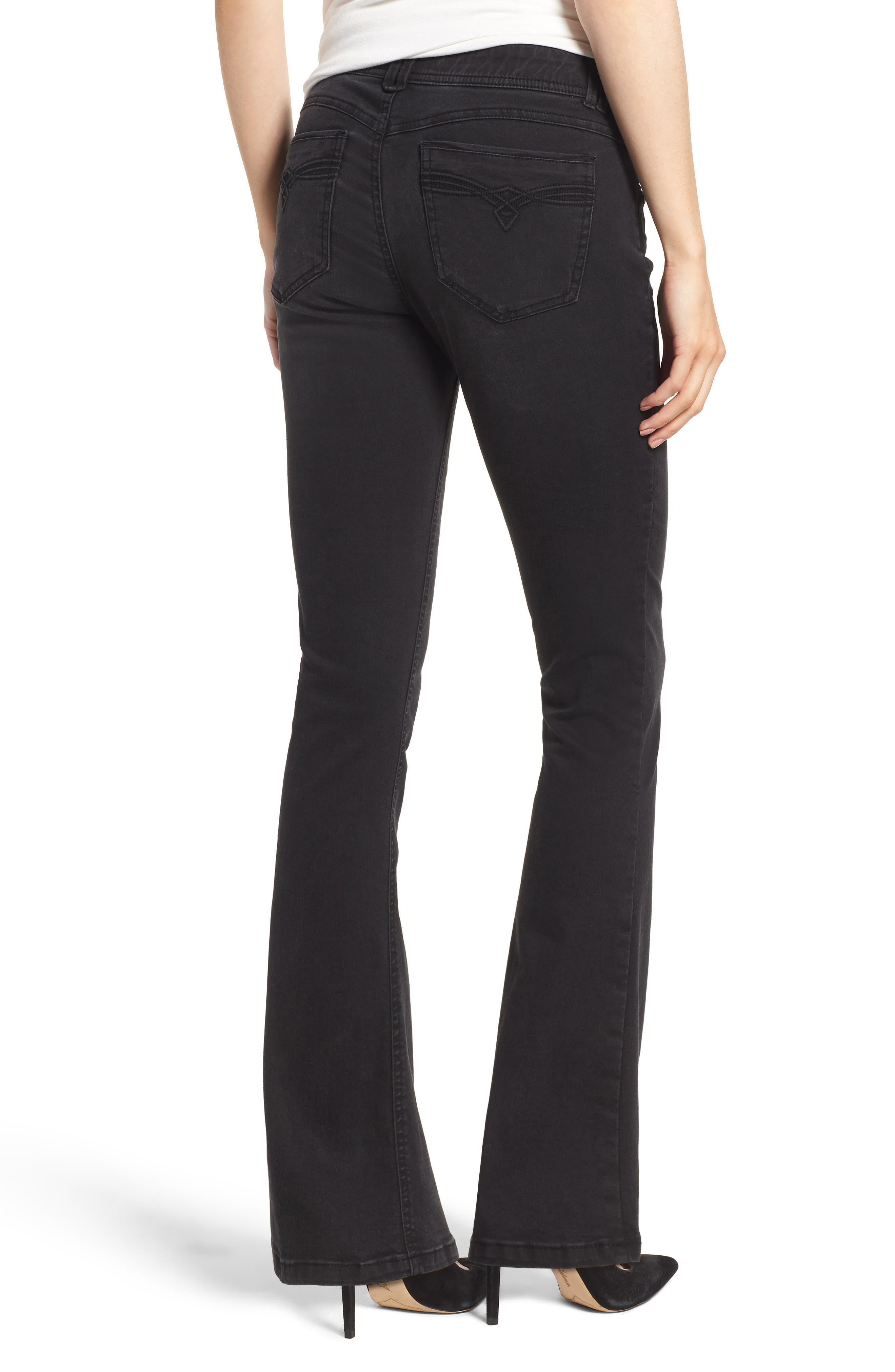 Ab-solution Itty Bitty Bootcut Jeans,                             Alternate thumbnail 2, color,                             001