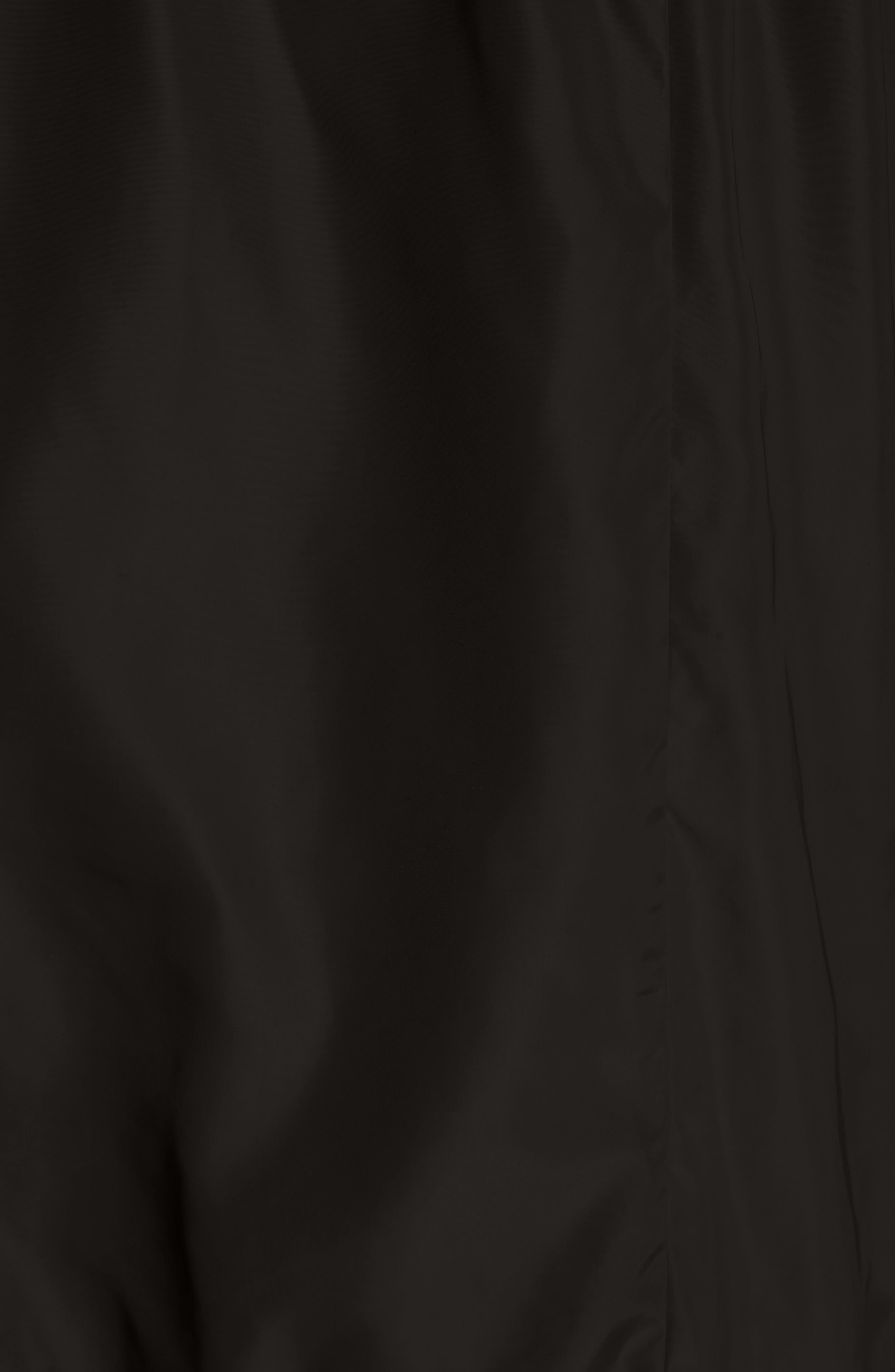 Topaze Water Resistant Hooded Jacket,                             Alternate thumbnail 6, color,                             BLACK