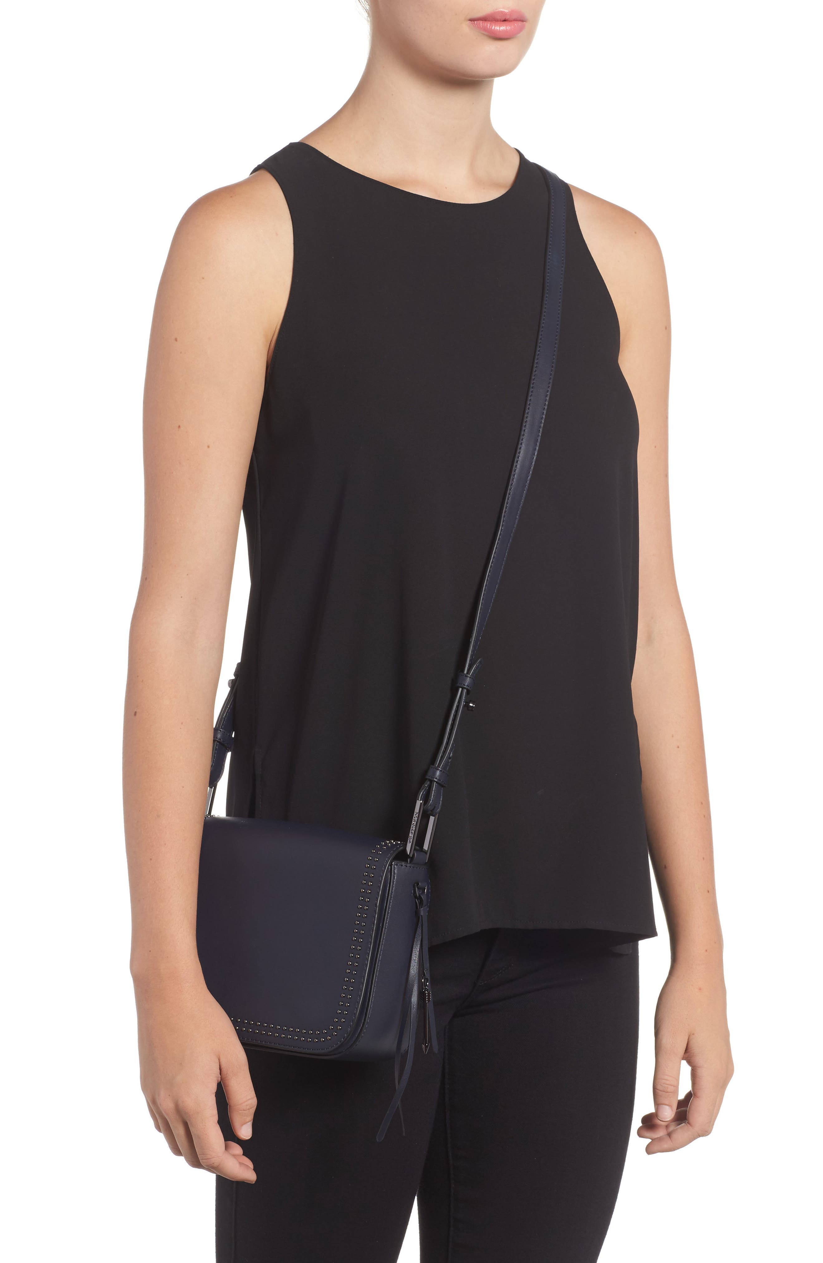 Dion Nappa Leather Crossbody Bag,                             Alternate thumbnail 2, color,                             481