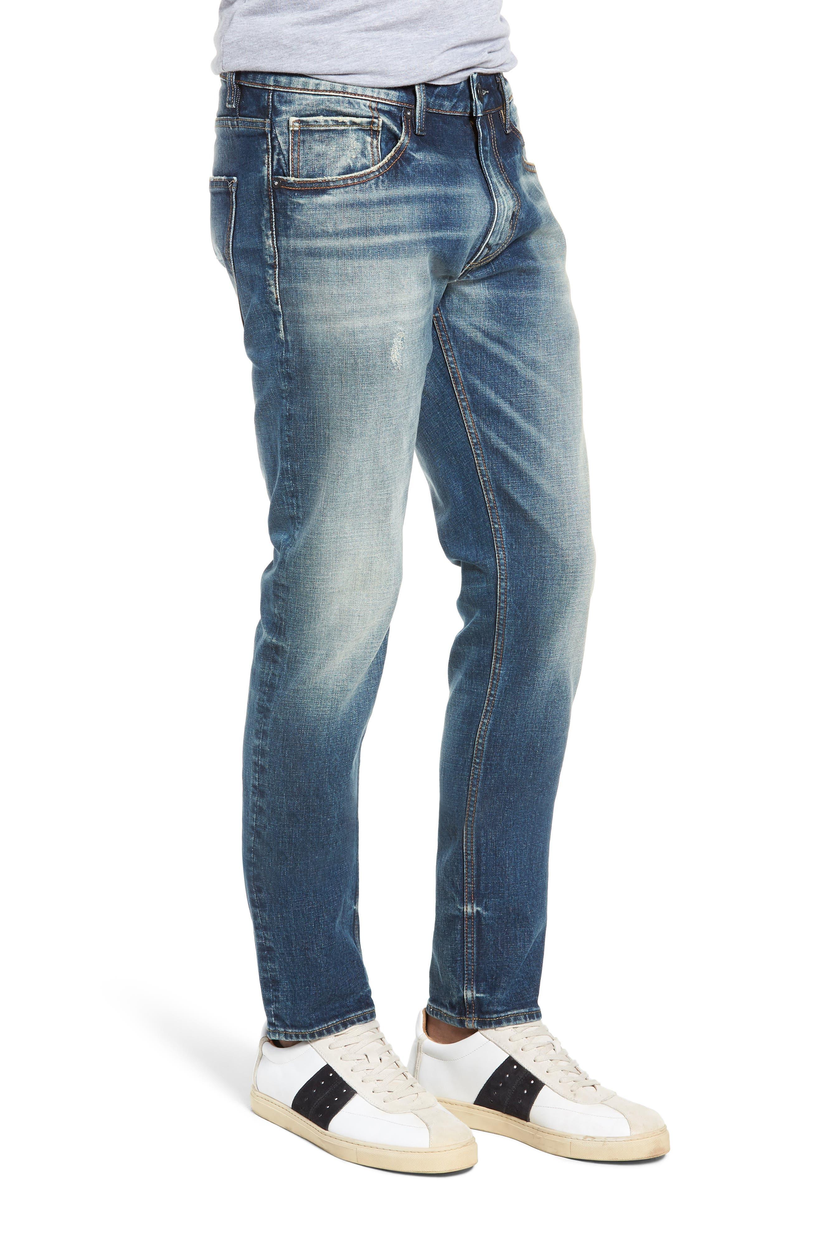 Mick Slim Fit Jeans,                             Alternate thumbnail 3, color,                             VINTAGE WASH