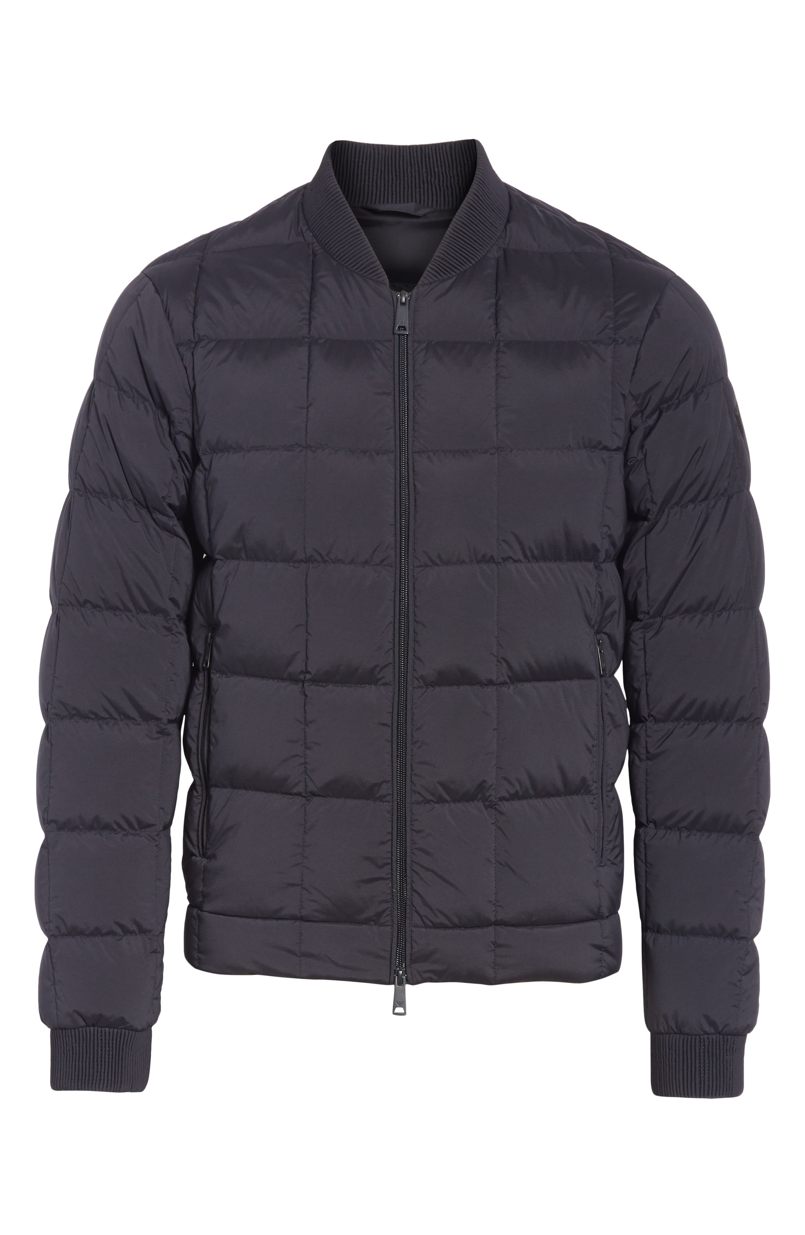 Quilted Down Jacket,                             Alternate thumbnail 5, color,                             400